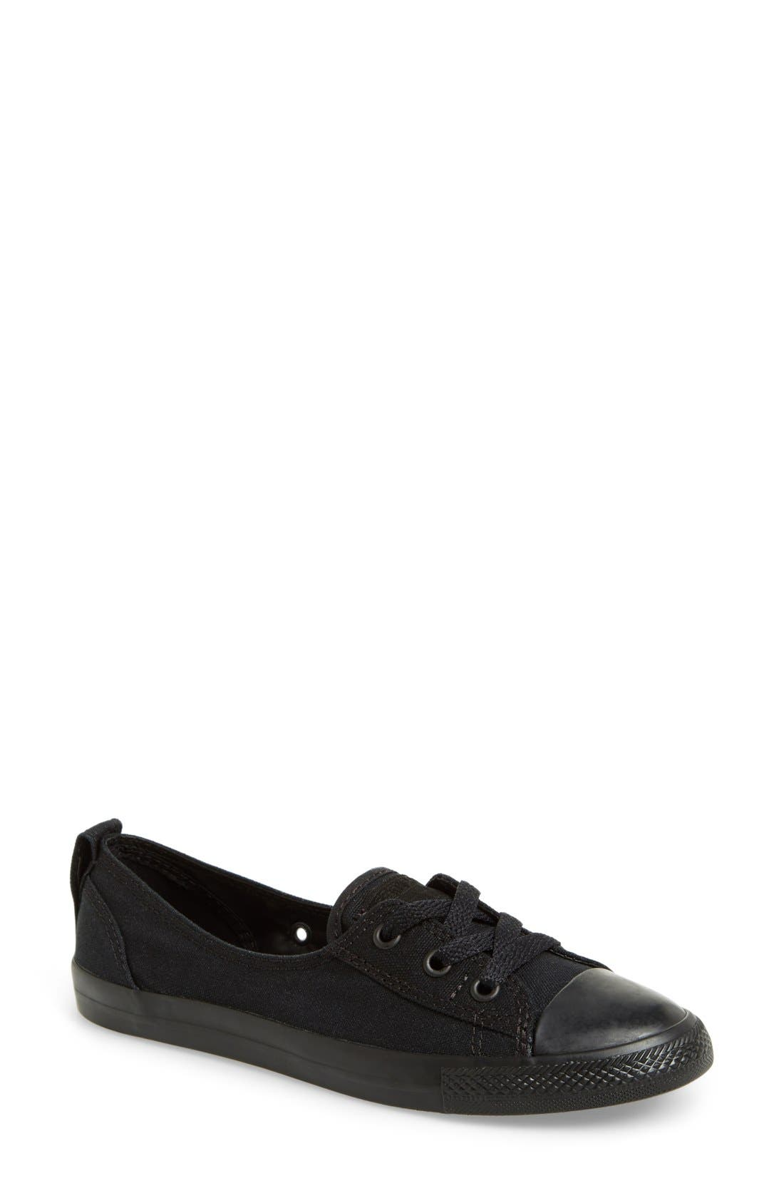 Alternate Image 1 Selected - Converse Chuck Taylor® All Star® Ballet Canvas Sneaker (Women)