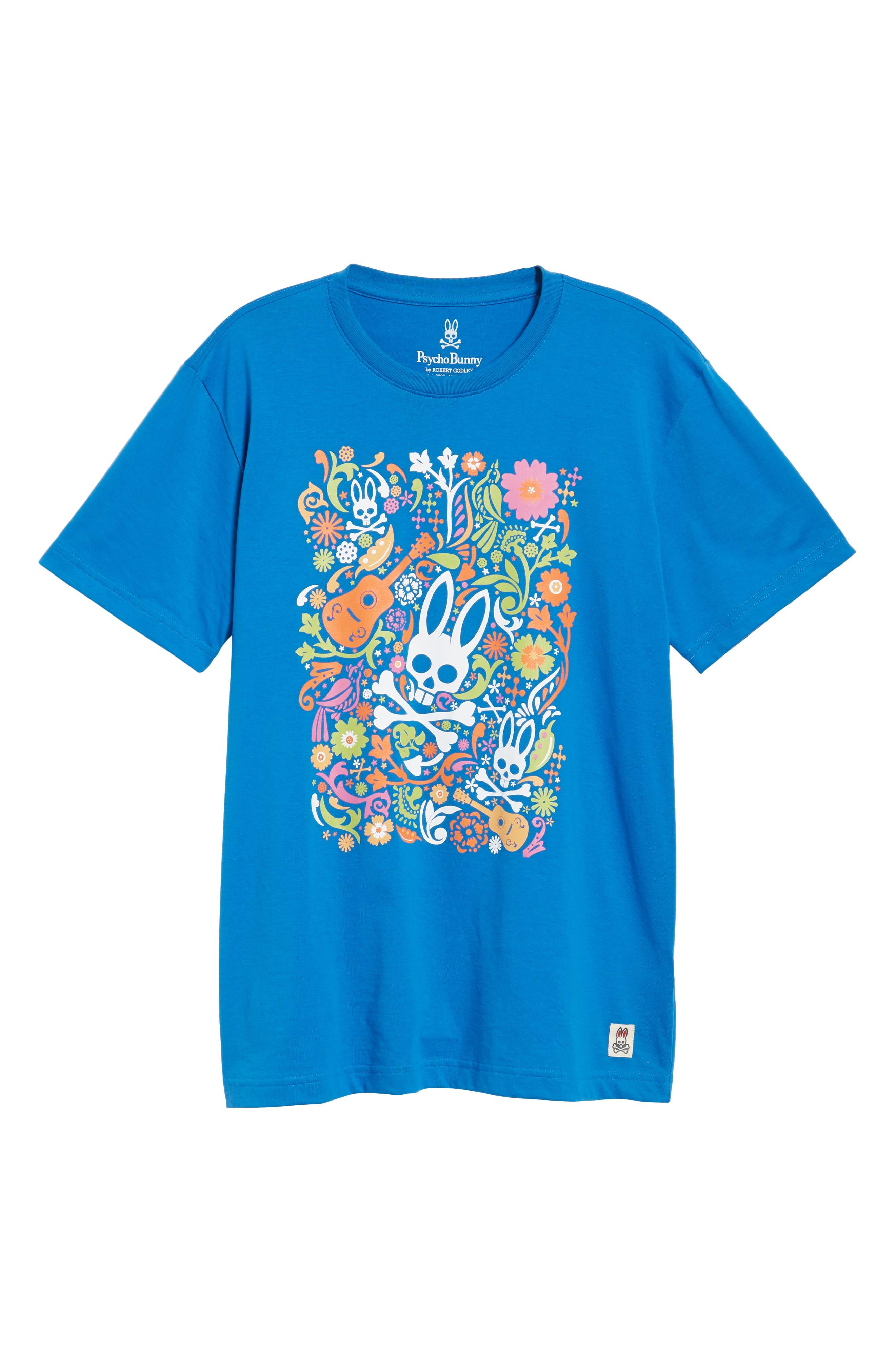 Graphic T-Shirt,                             Alternate thumbnail 6, color,                             Daphne