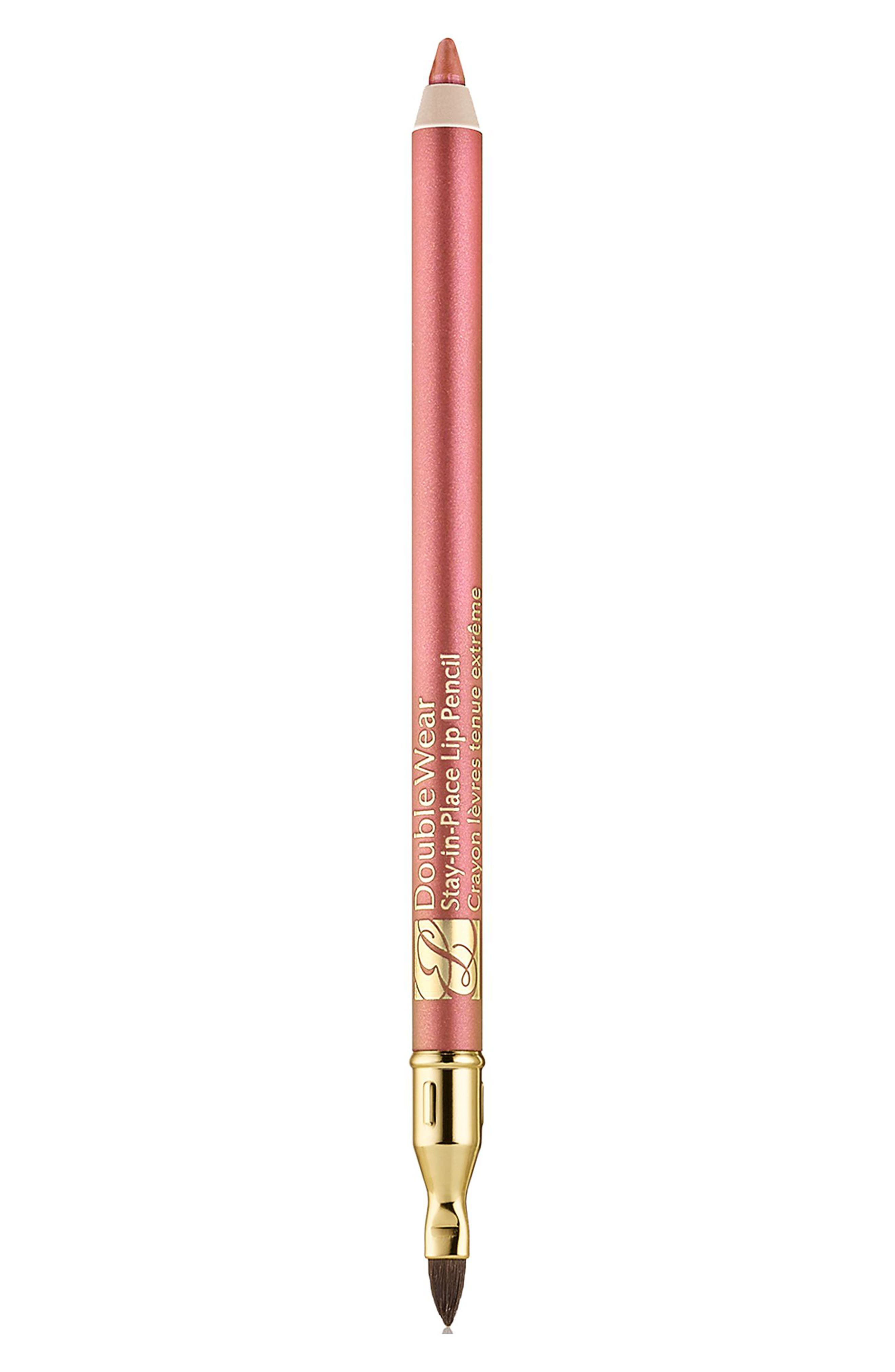 Double Wear Stay-in-Place Lip Pencil,                             Main thumbnail 1, color,                             Tawny