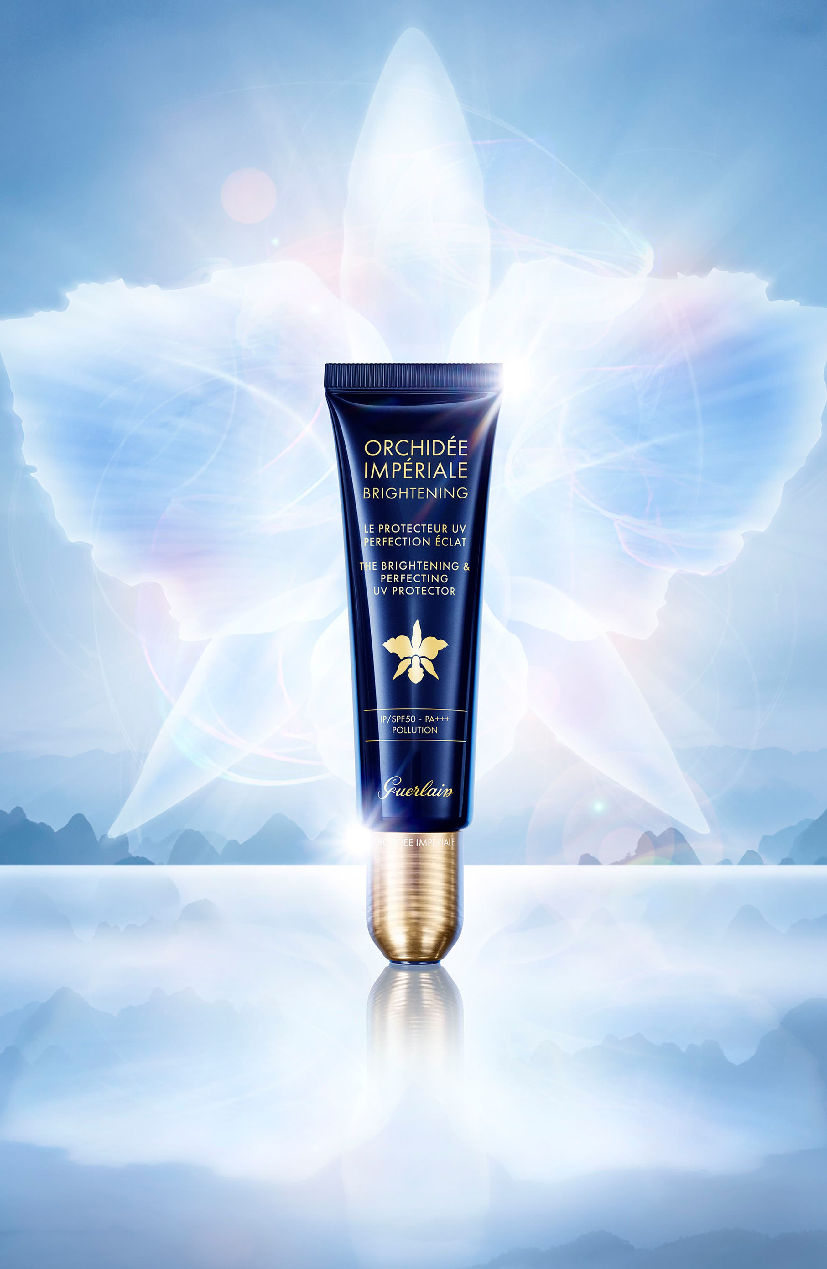 Orchidée Impériale The Brightening & Perfecting UV Protector SPF 50,                             Alternate thumbnail 2, color,