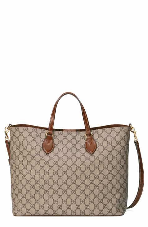 de7e23c90141 Gucci GG Supreme Soft Canvas Tote