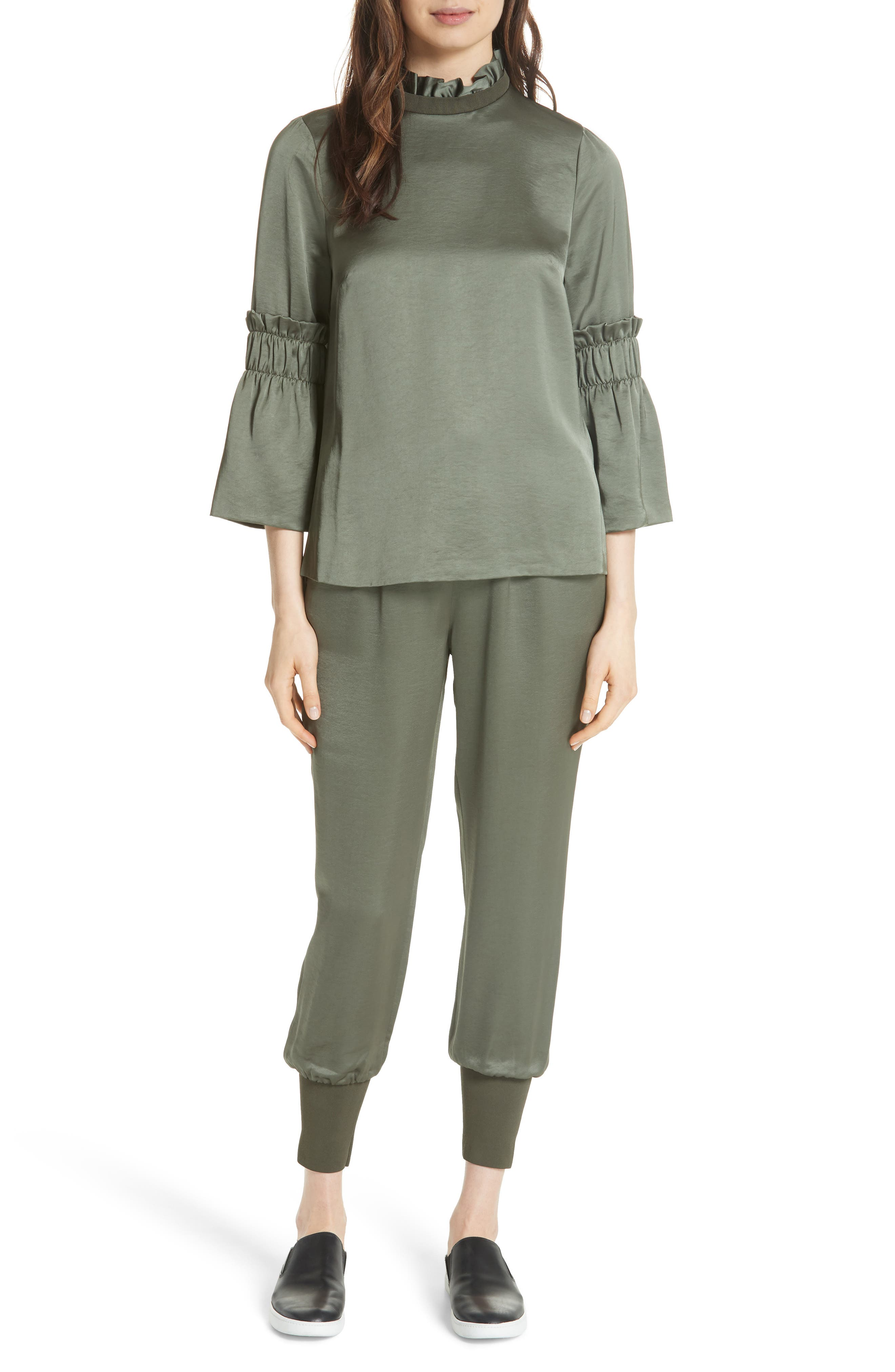 Alternate Image 7  - Ted Baker London Nayarmi Paperbag Waist Jogger Pants