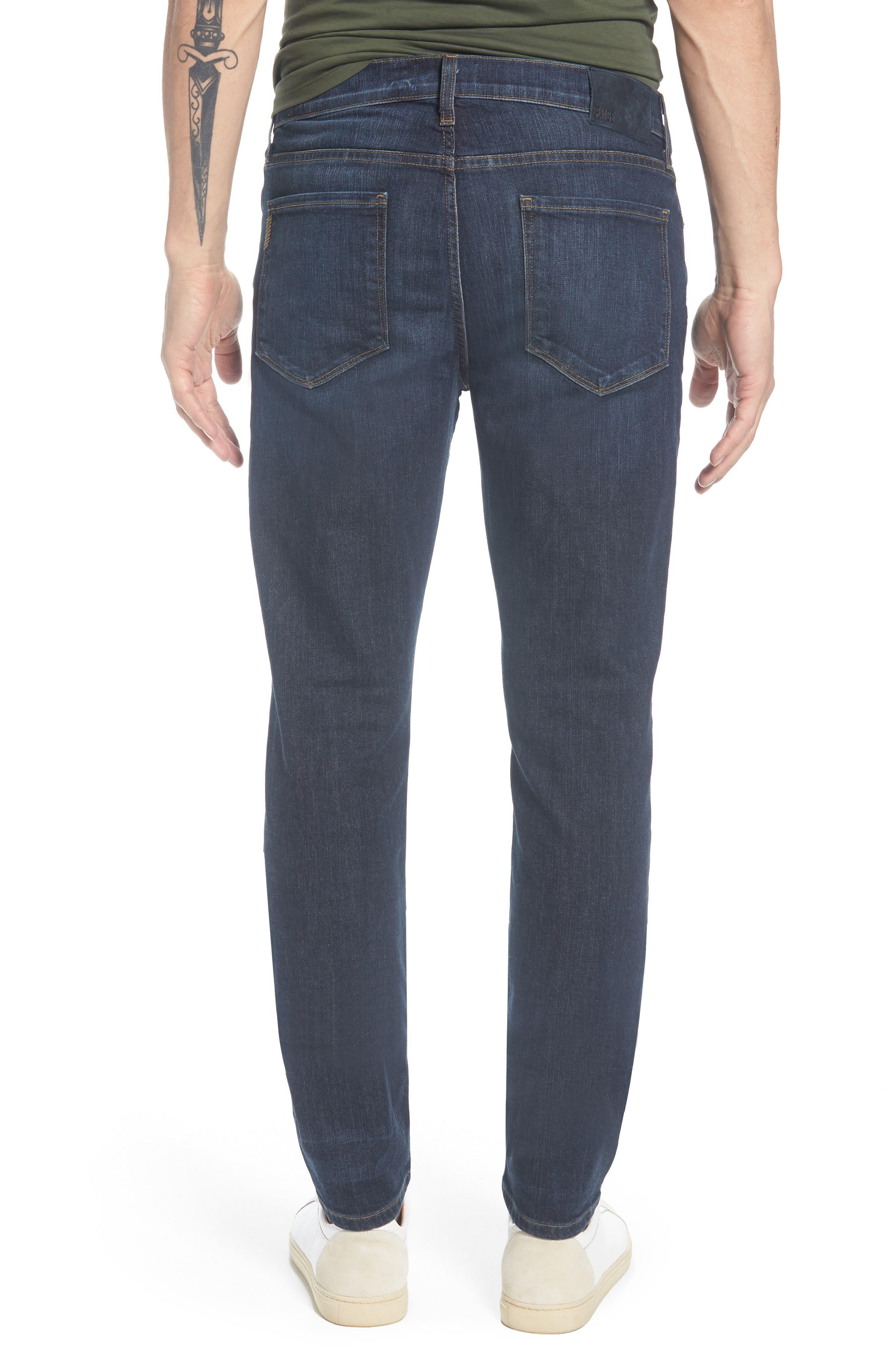 Transcend - Lennox Slim Fit Jeans,                             Alternate thumbnail 2, color,                             Hestan