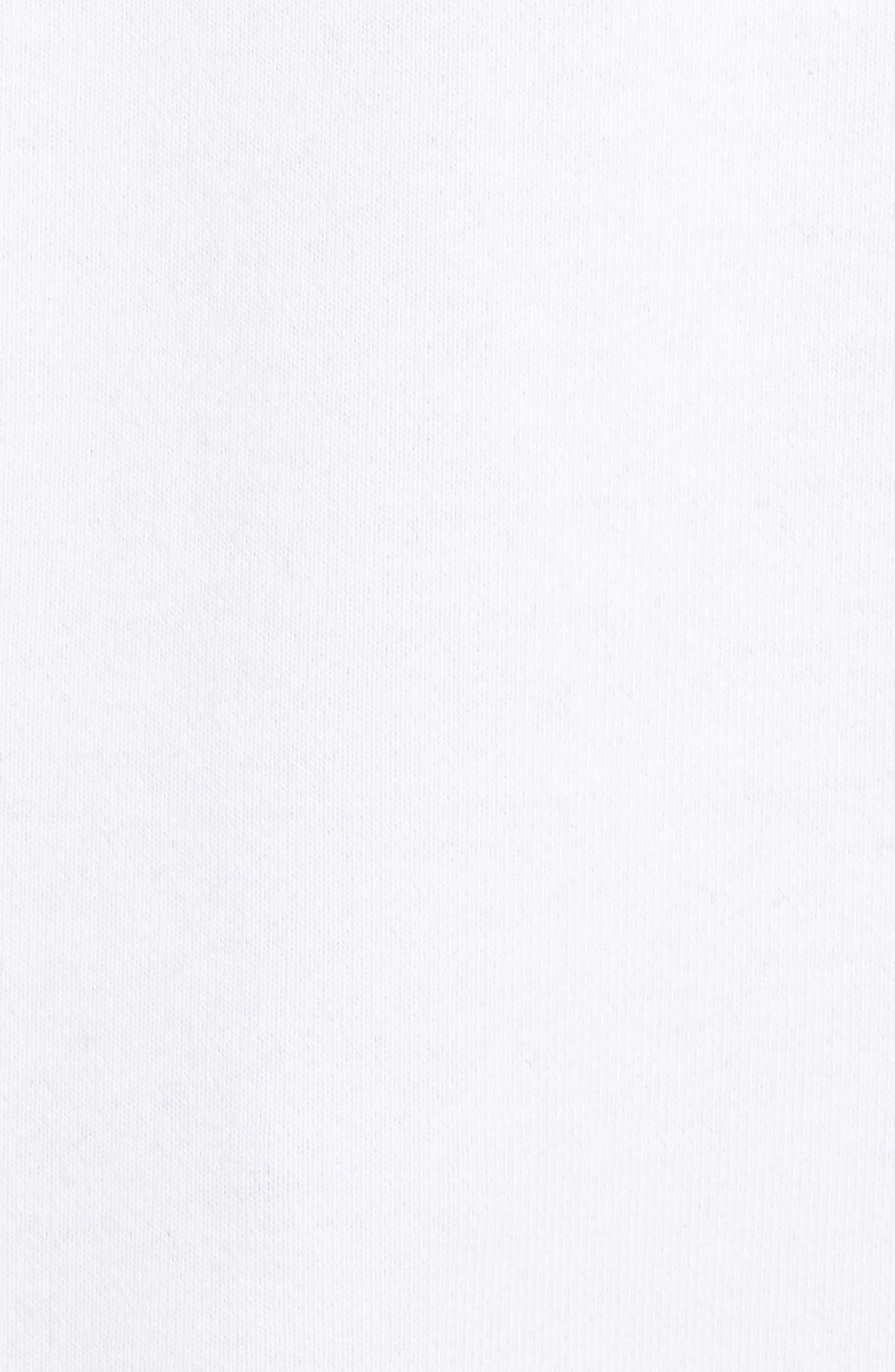 Calvin Klein Sleeveless Hoodie,                             Alternate thumbnail 5, color,                             Standard White