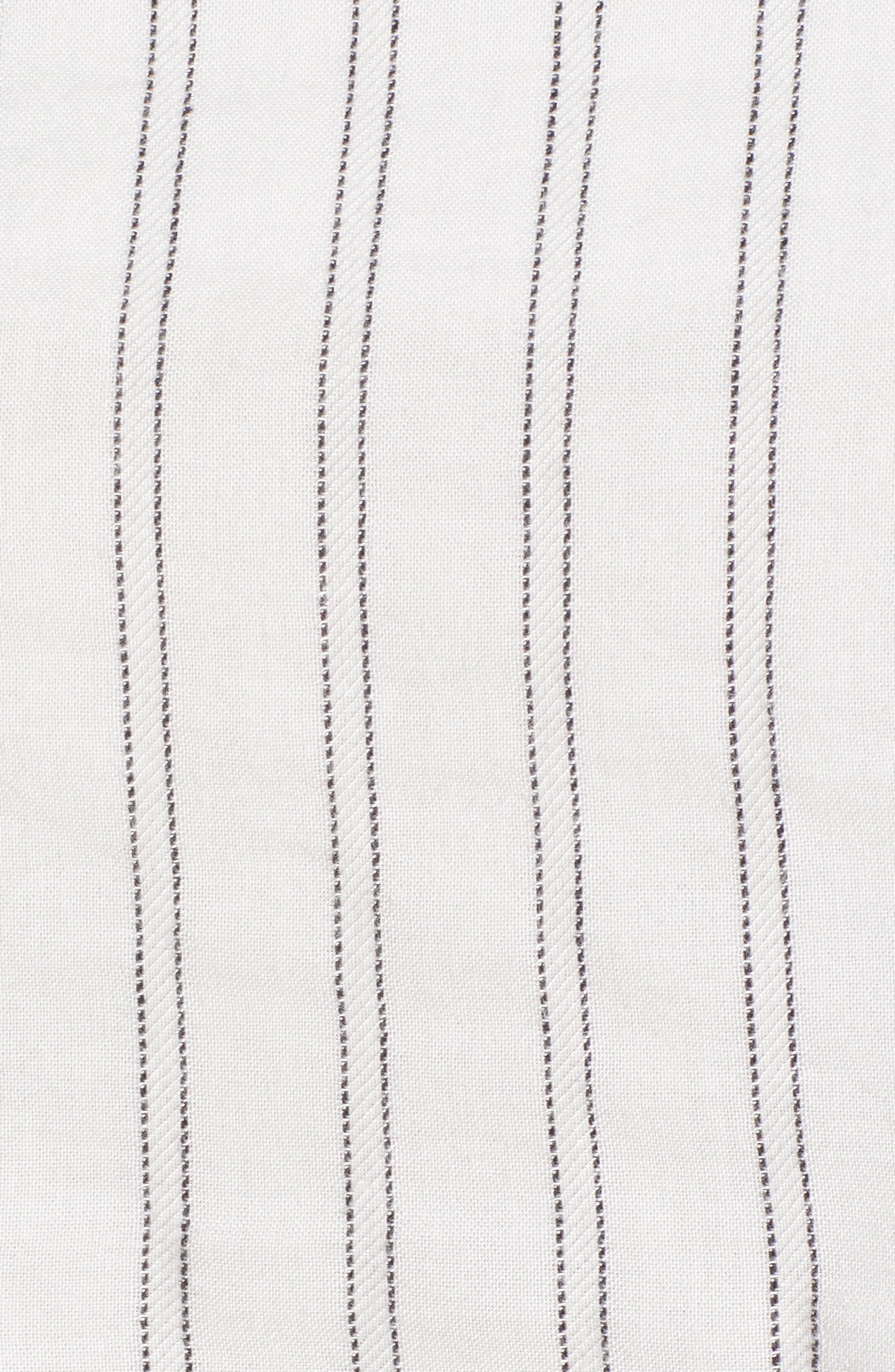 Tulum Stripe Crop Camisole,                             Alternate thumbnail 5, color,                             White Multi