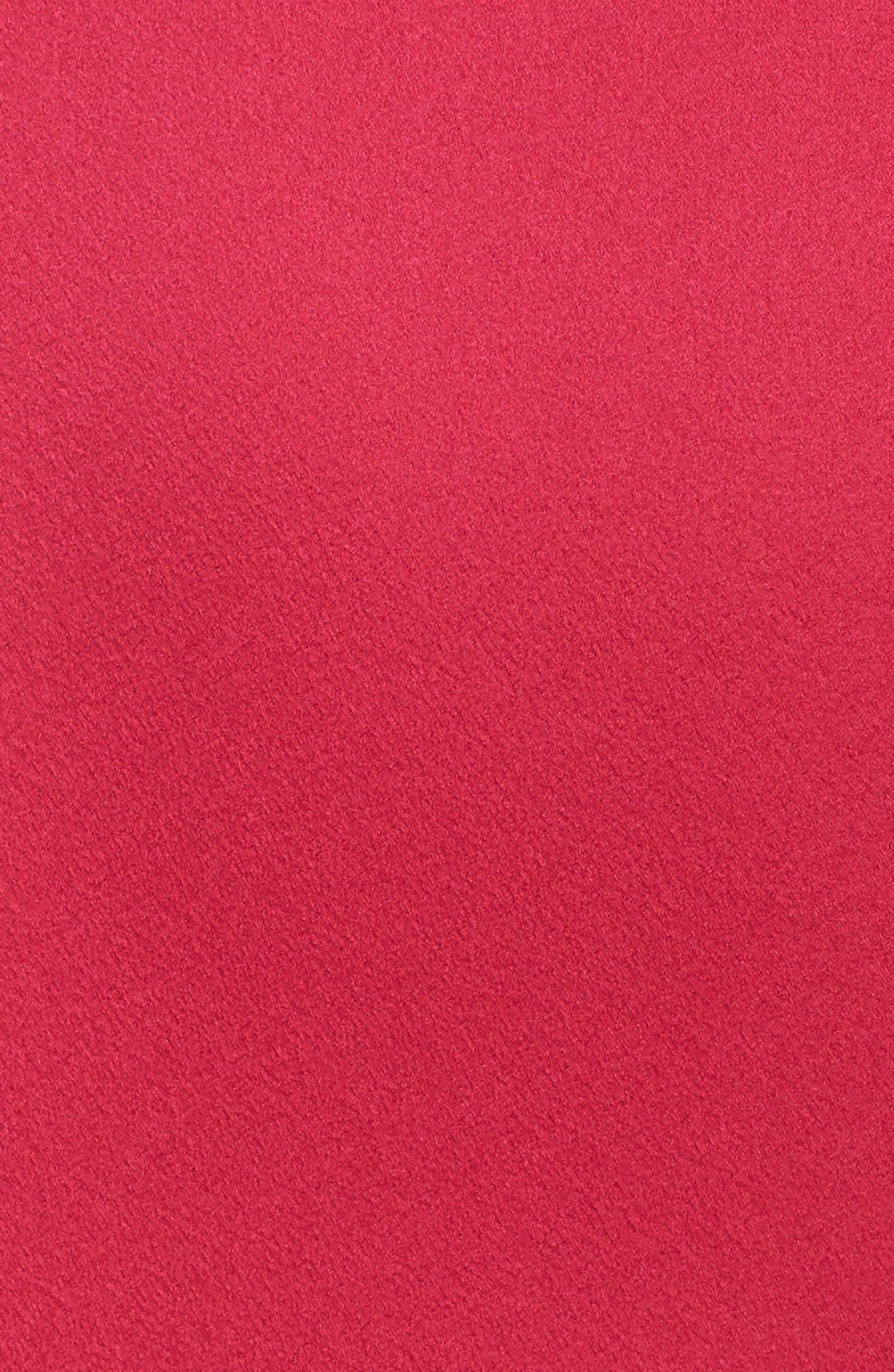The Thora Satin Gown,                             Alternate thumbnail 5, color,                             Fuchsia