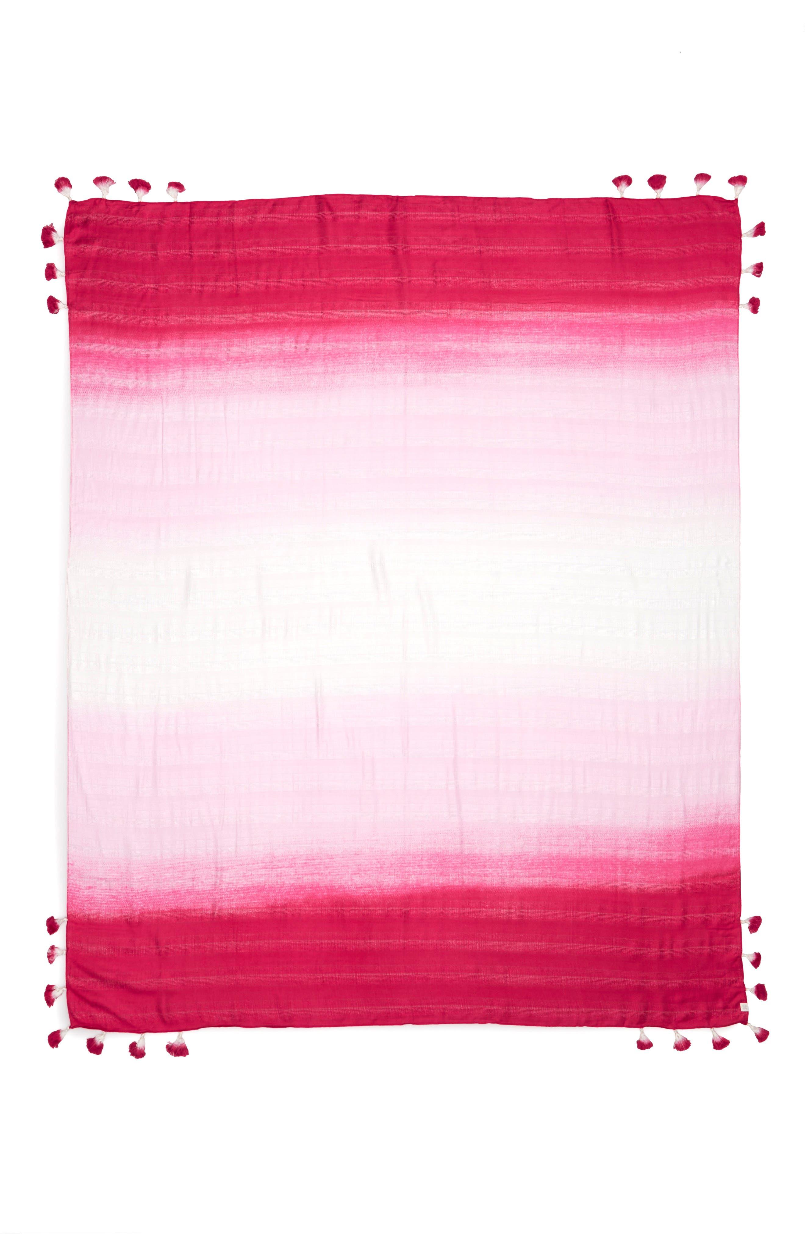 Caslon Ombré Pareo,                             Alternate thumbnail 2, color,                             Pink Ombre Print