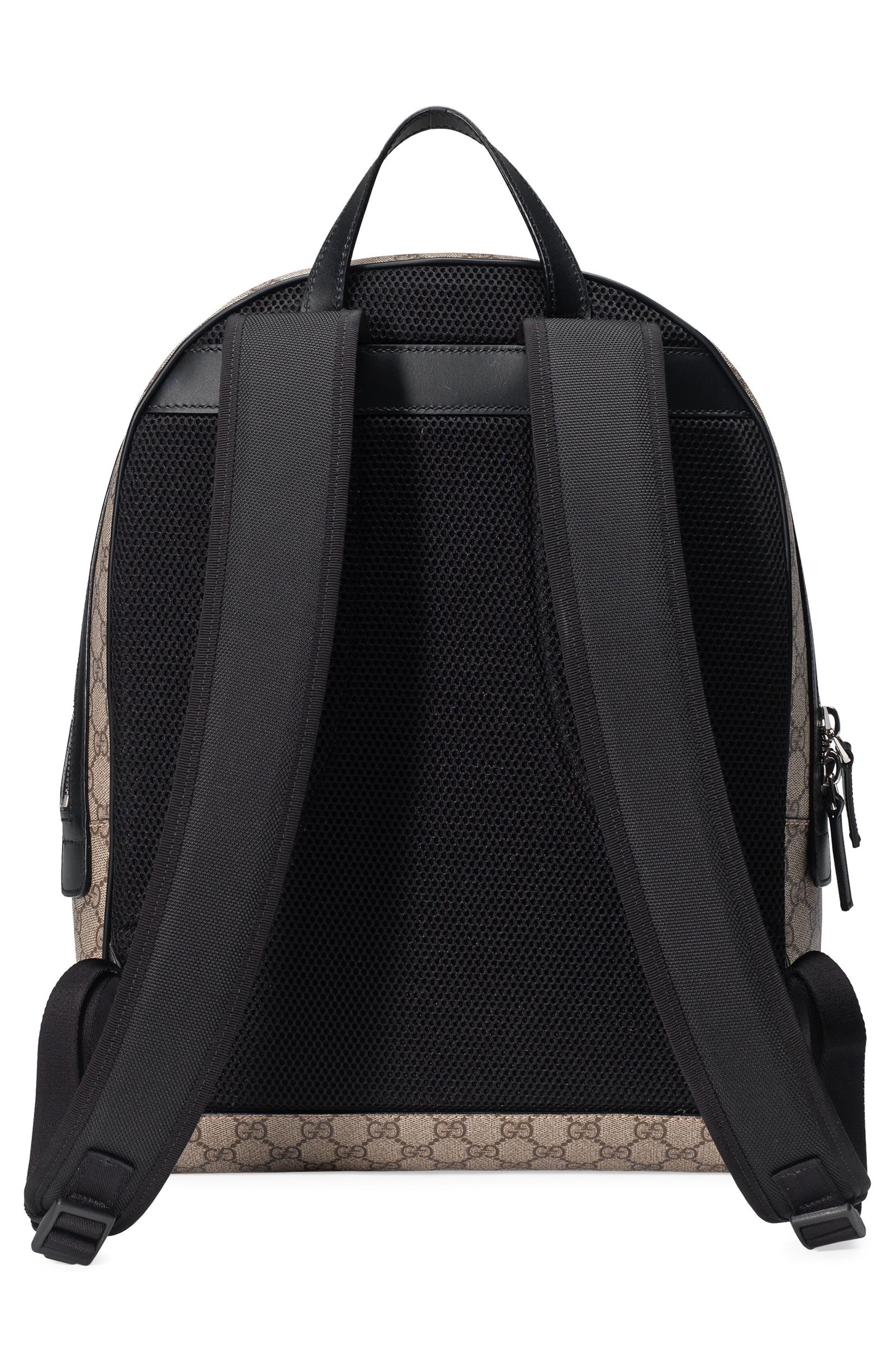 Supreme Stripe Backpack,                             Alternate thumbnail 2, color,                             Beige