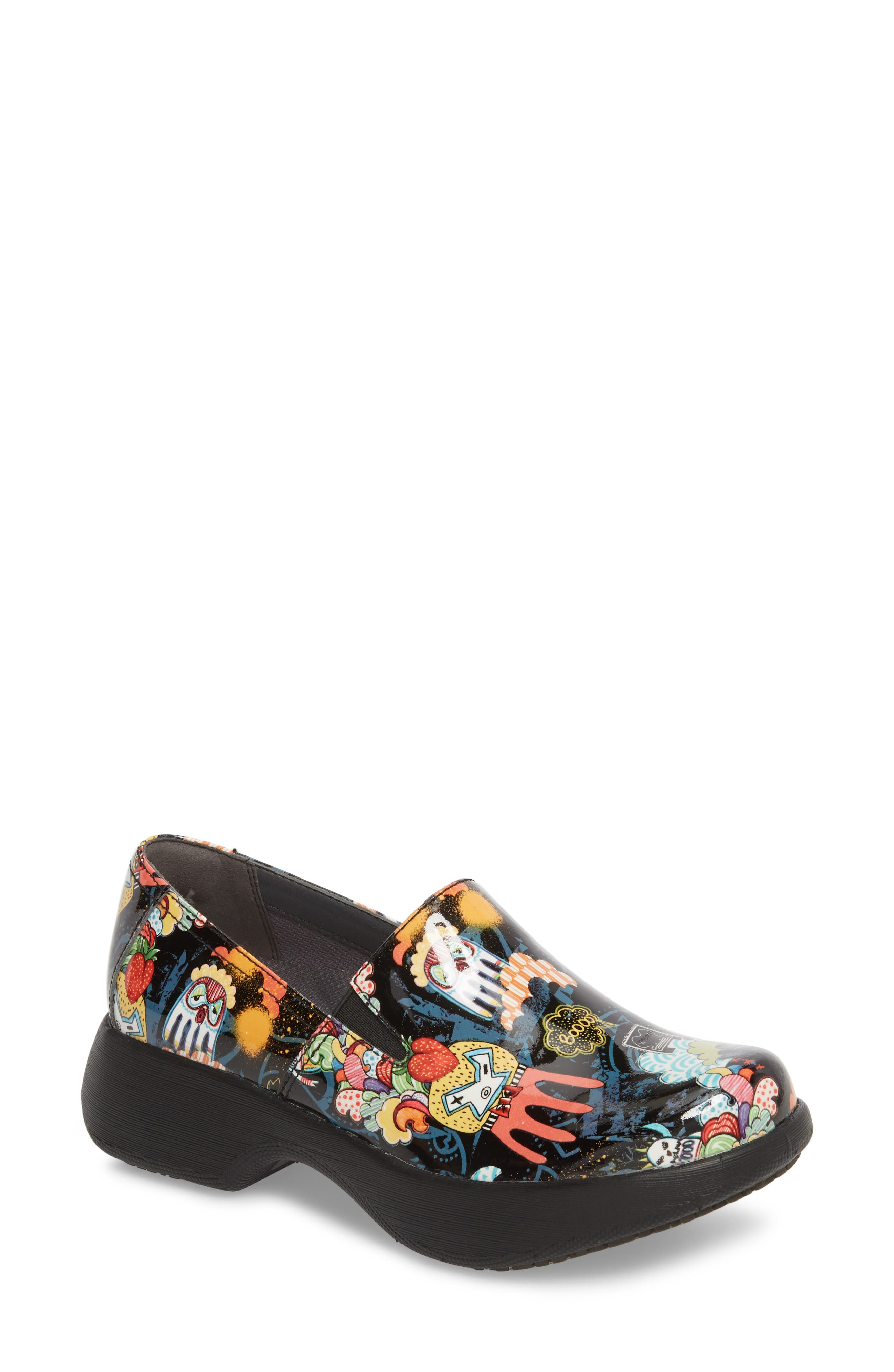 Winona Slip-On Clog,                         Main,                         color, Monster Patent Leather