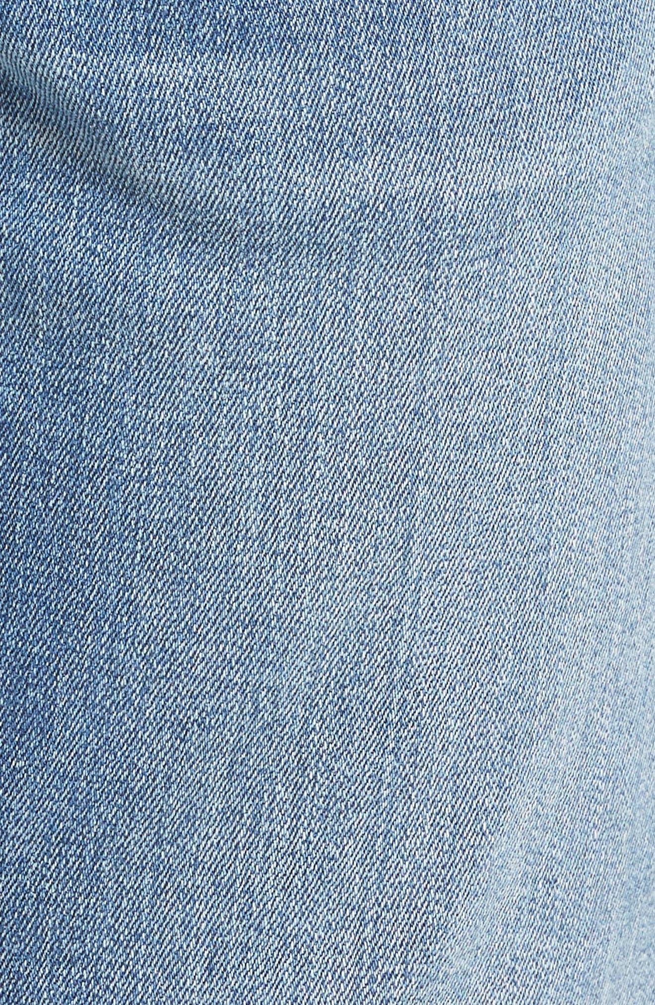 Jake Slim Fit Jeans,                             Alternate thumbnail 5, color,                             Light Blue Willamsburg