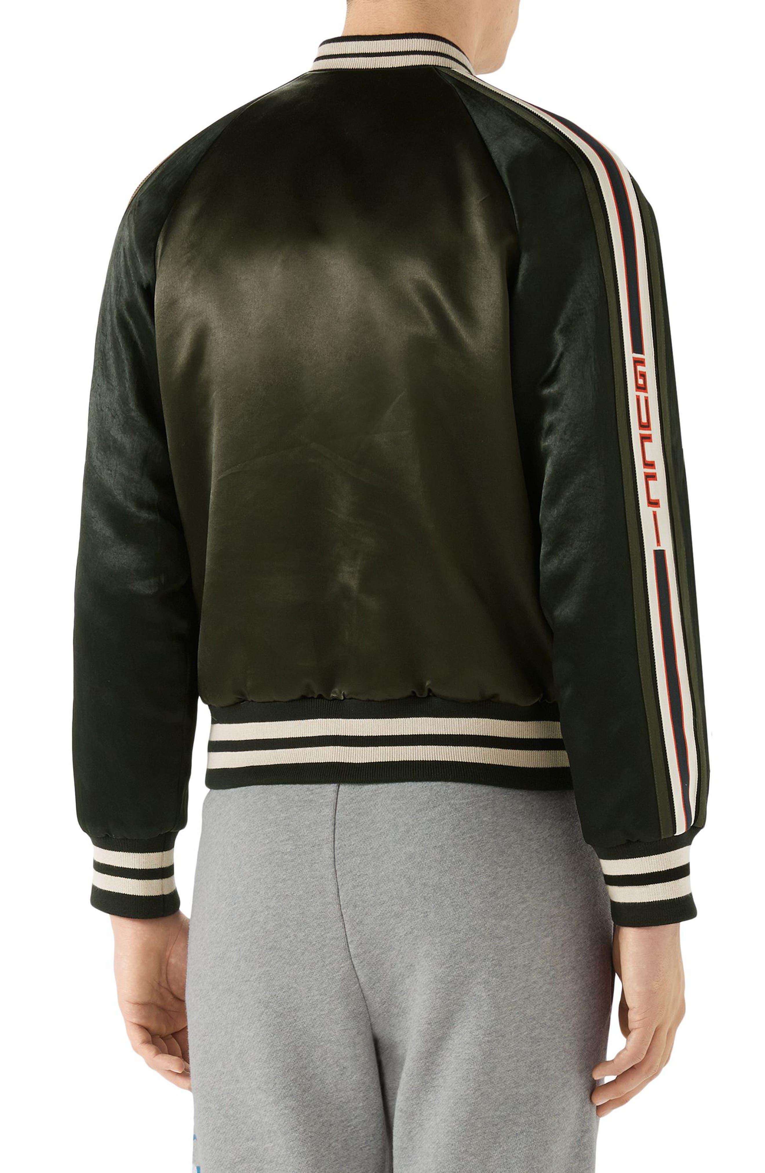 Alternate Image 2  - Gucci Souvenir Bomber Jacket