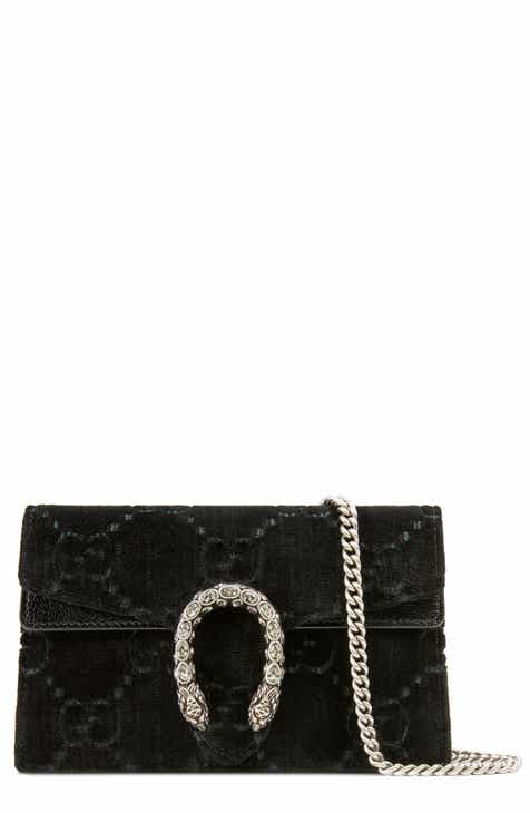 aa369273b9a Gucci Supermini Dionysus Double G Velvet Shoulder Bag