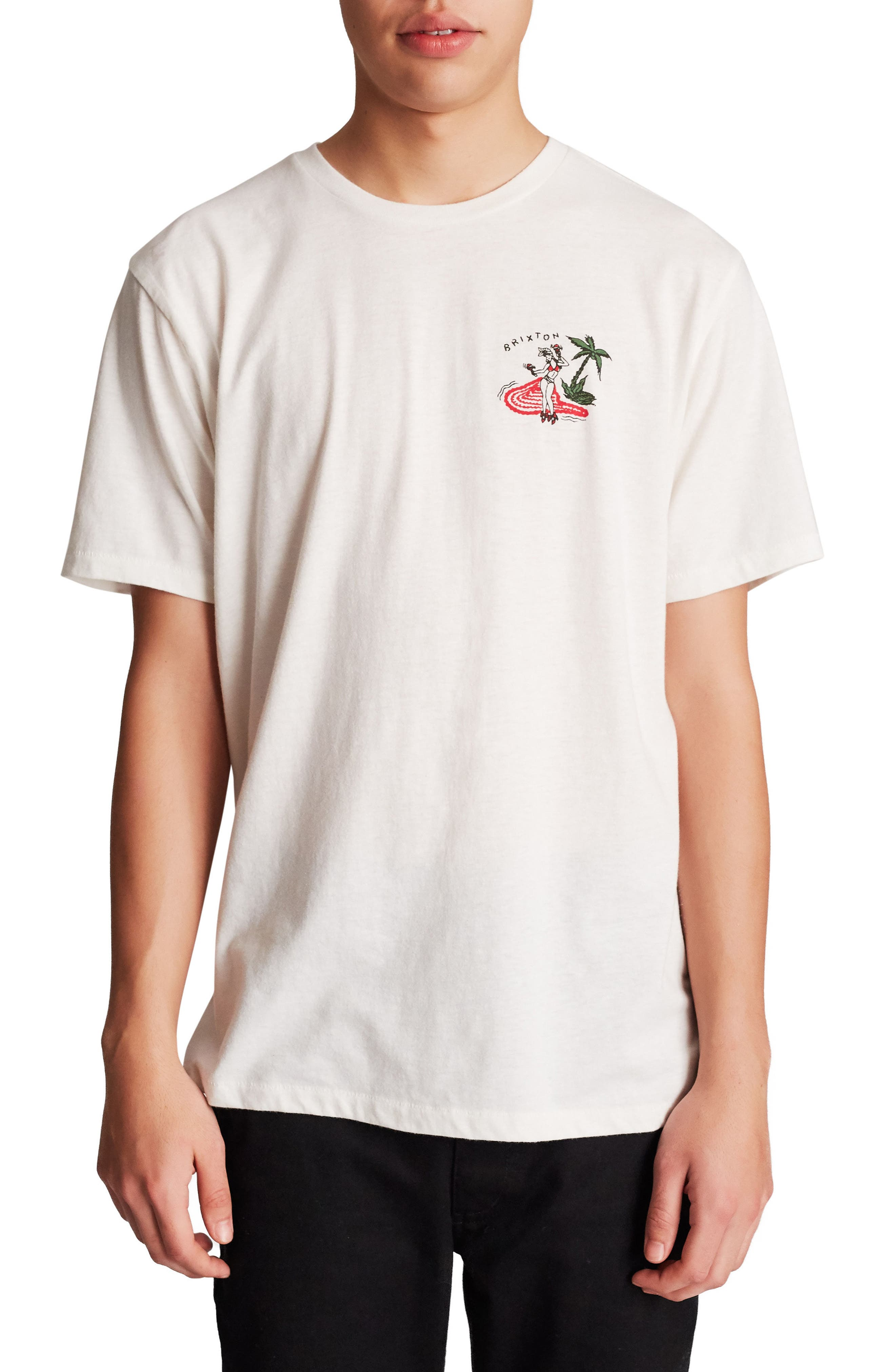 Cha Cha Graphic T-Shirt,                         Main,                         color, Off White