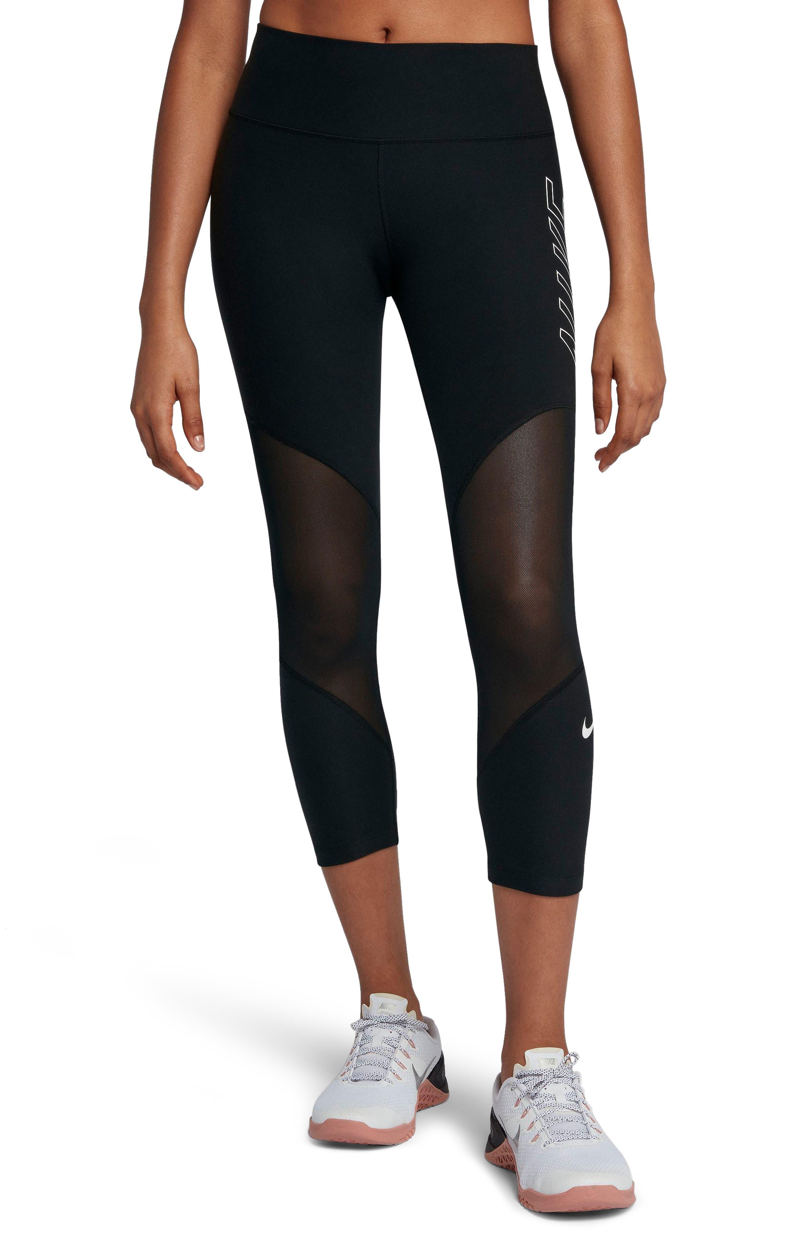 Nike Power Graphic Training Crop Leggings