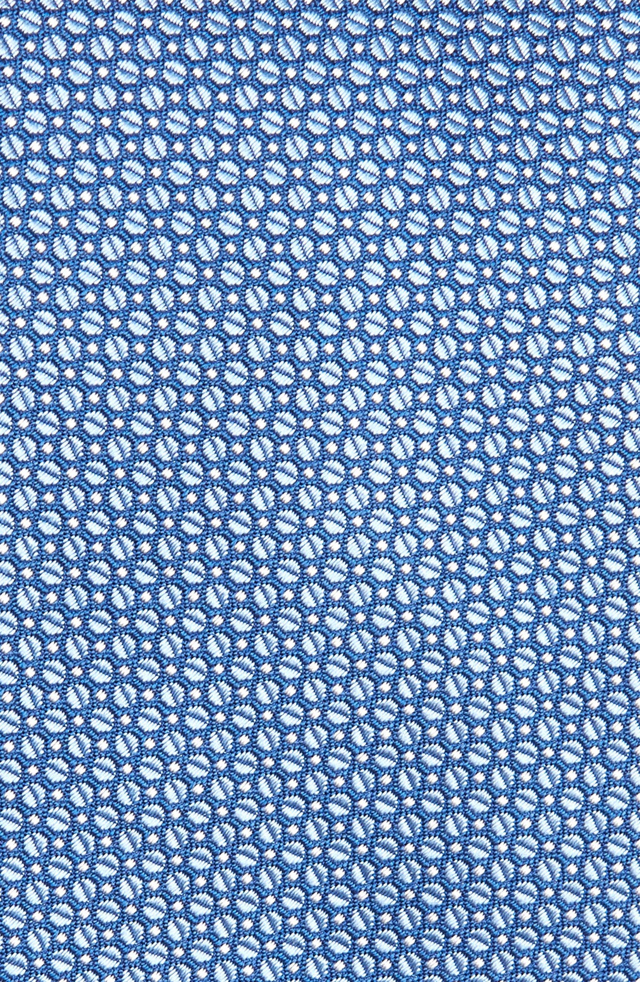 Solid Silk Tie,                             Alternate thumbnail 2, color,                             Blue