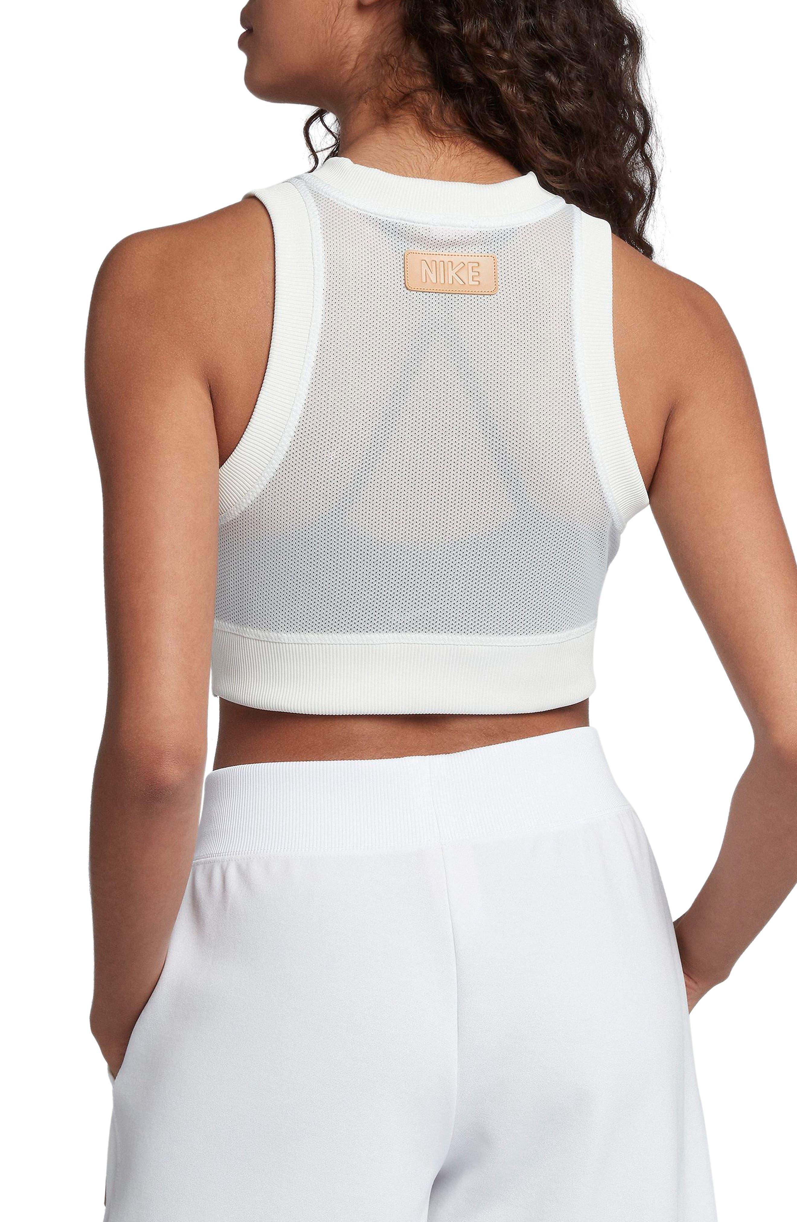 Sportswear Crop Top,                             Alternate thumbnail 2, color,                             White