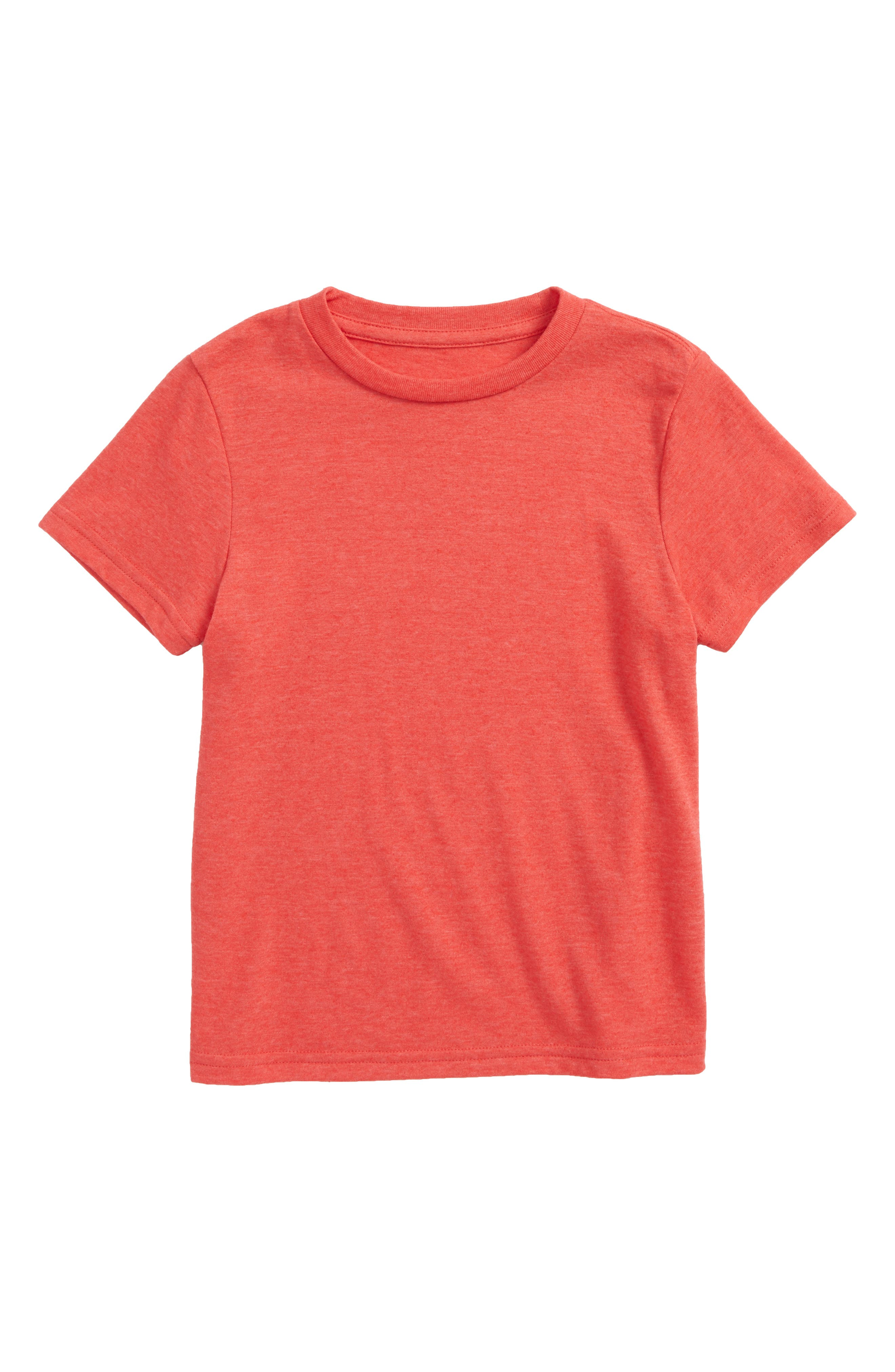 Basic T-Shirt,                             Main thumbnail 1, color,                             Red Ribbon