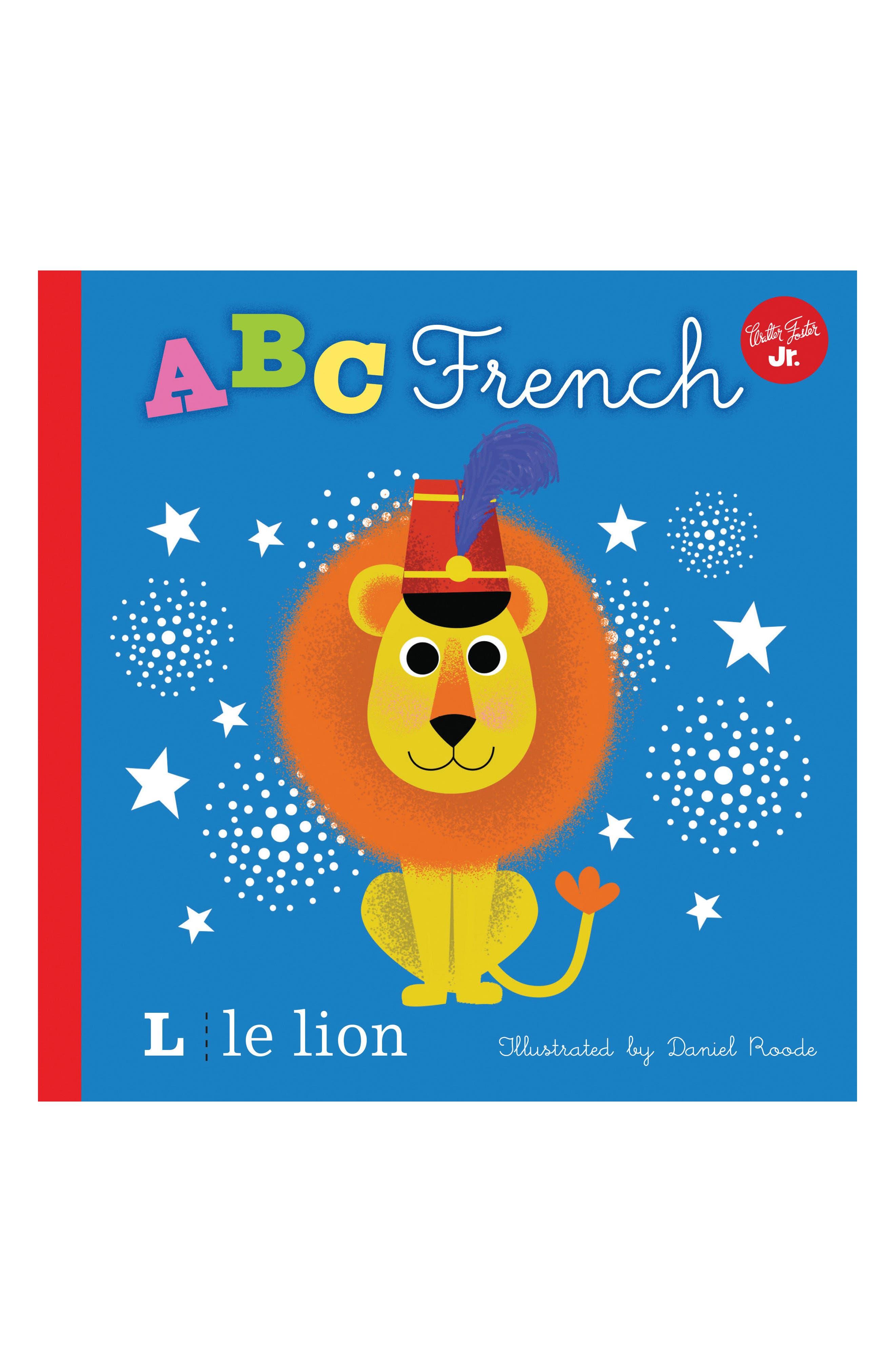 ABC French Book,                         Main,                         color, Multi