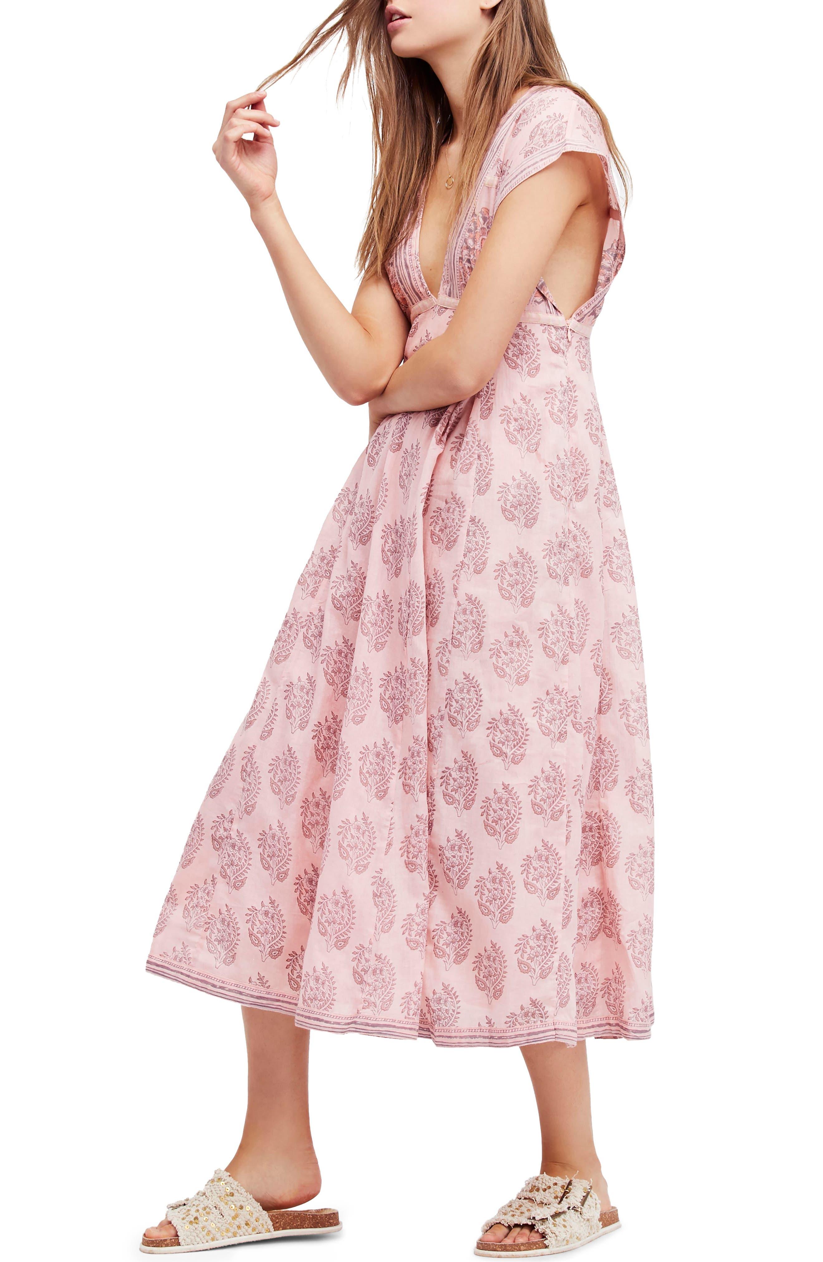 Riakaa Dress,                         Main,                         color, Pink