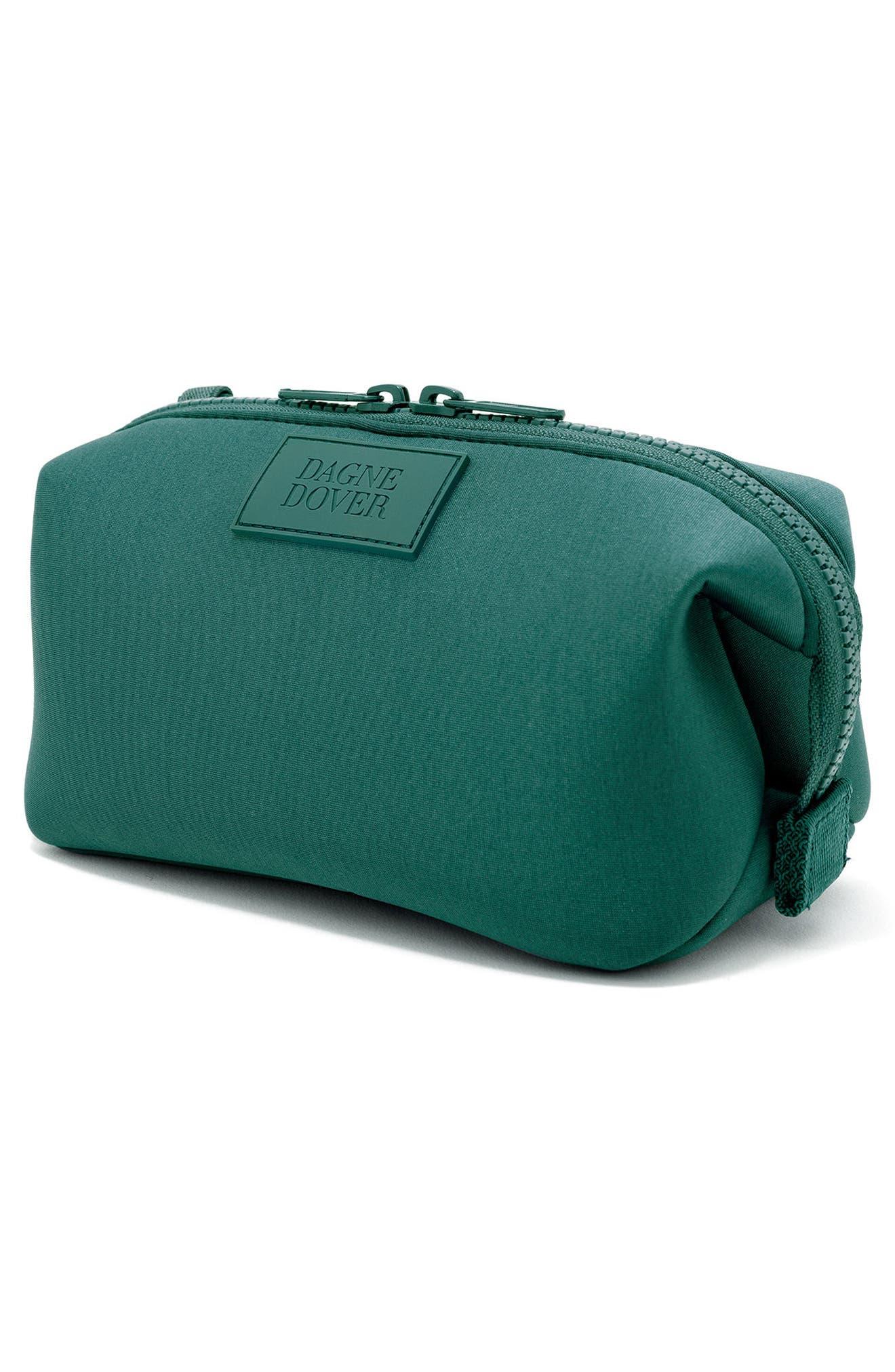 Small Hunter Neoprene Toiletry Bag,                             Alternate thumbnail 4, color,                             Palm