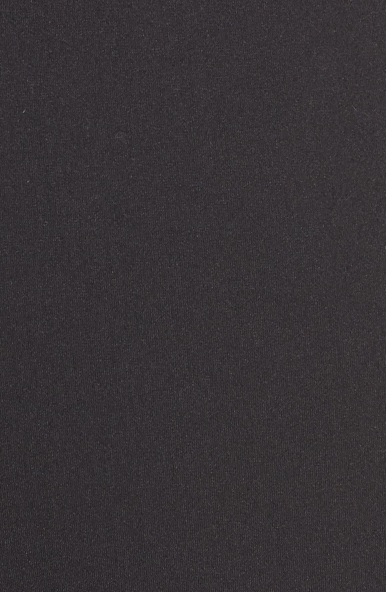 Ultimate Transitional Regular Fit Shorts,                             Alternate thumbnail 5, color,                             Black
