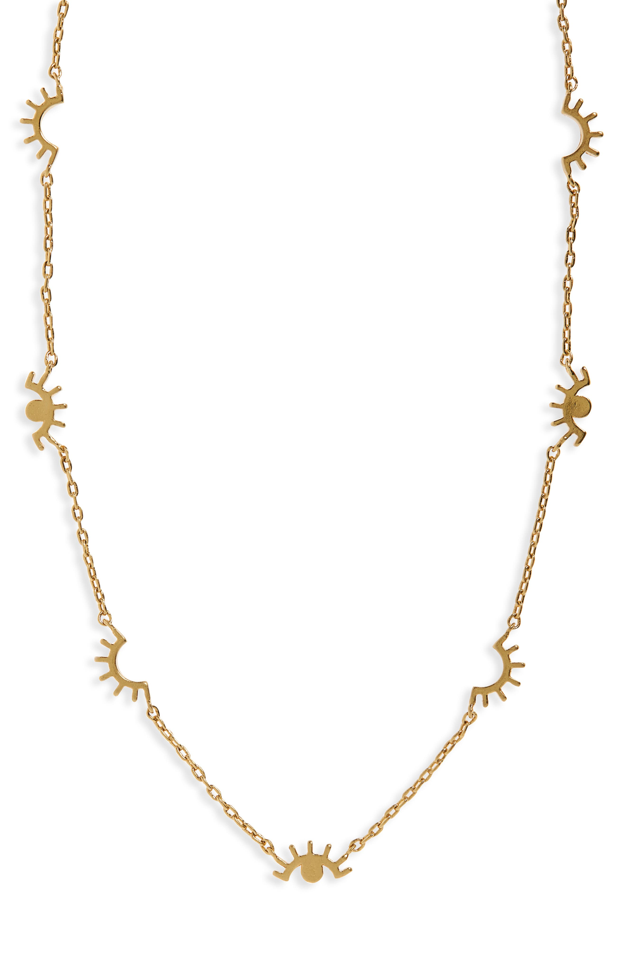 Madewell Eye Charm Necklace