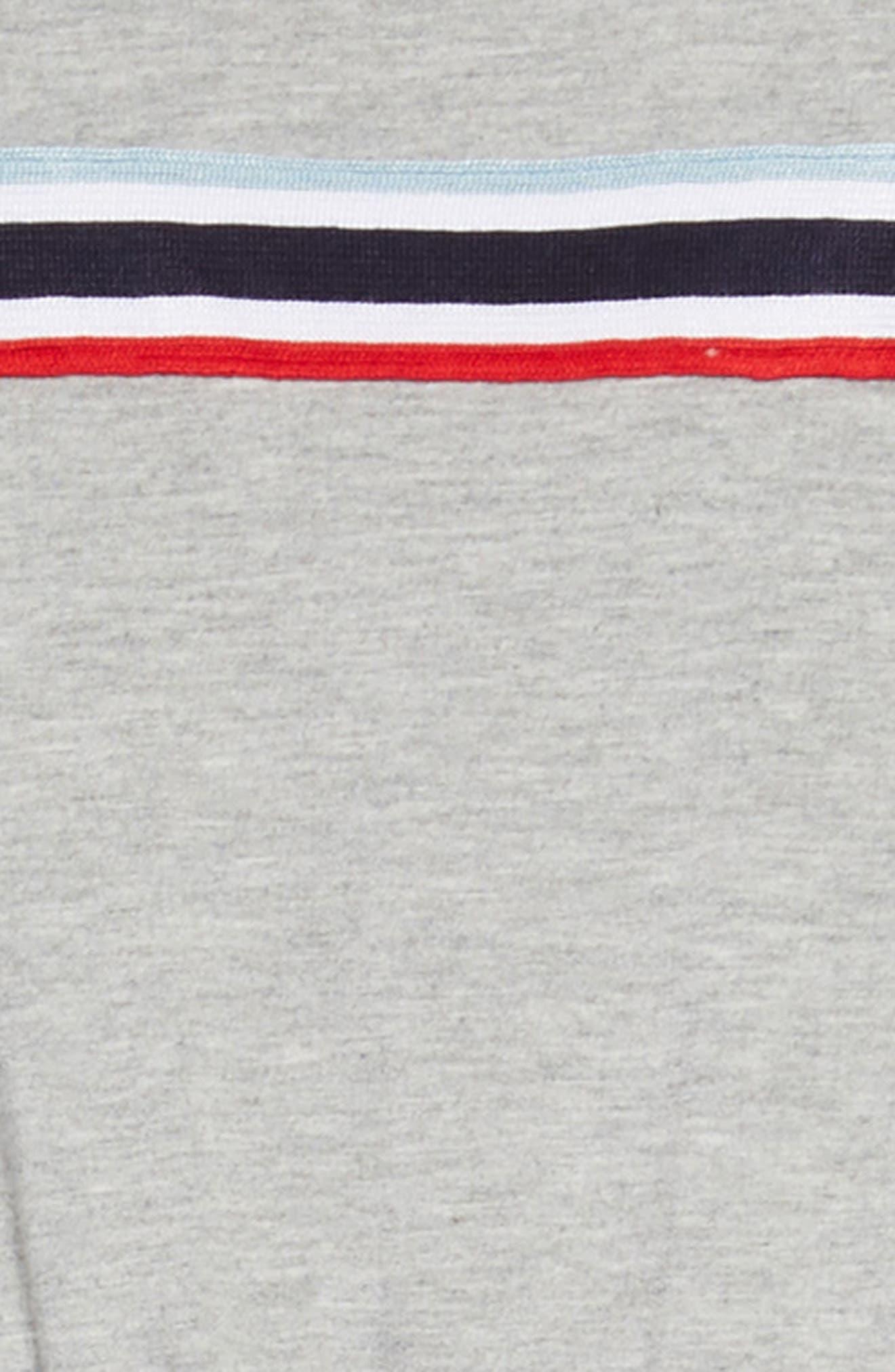Stripe Jumpsuit,                             Alternate thumbnail 2, color,                             Grey