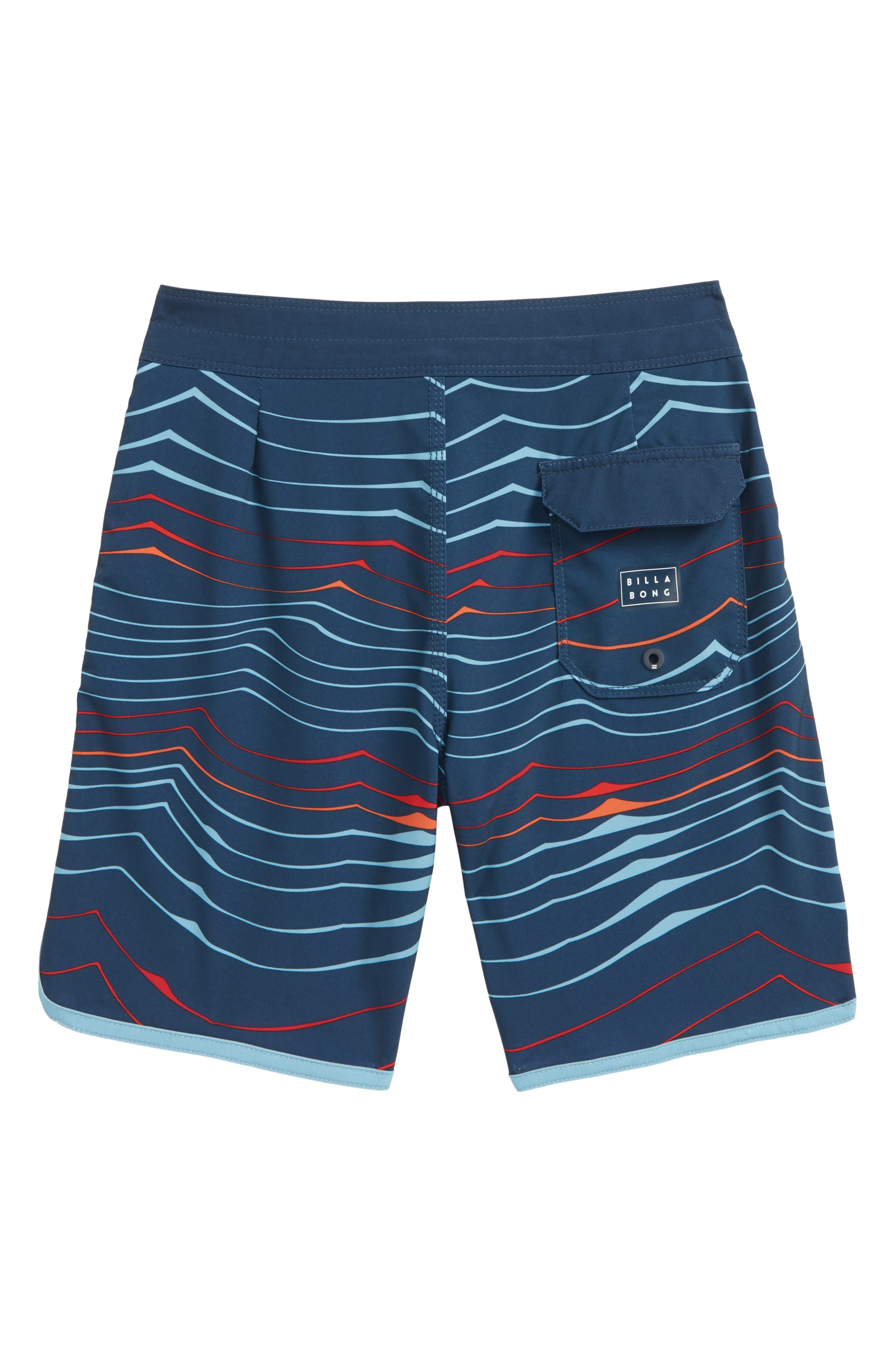 73 X Line Up Board Shorts,                             Alternate thumbnail 2, color,                             Navy