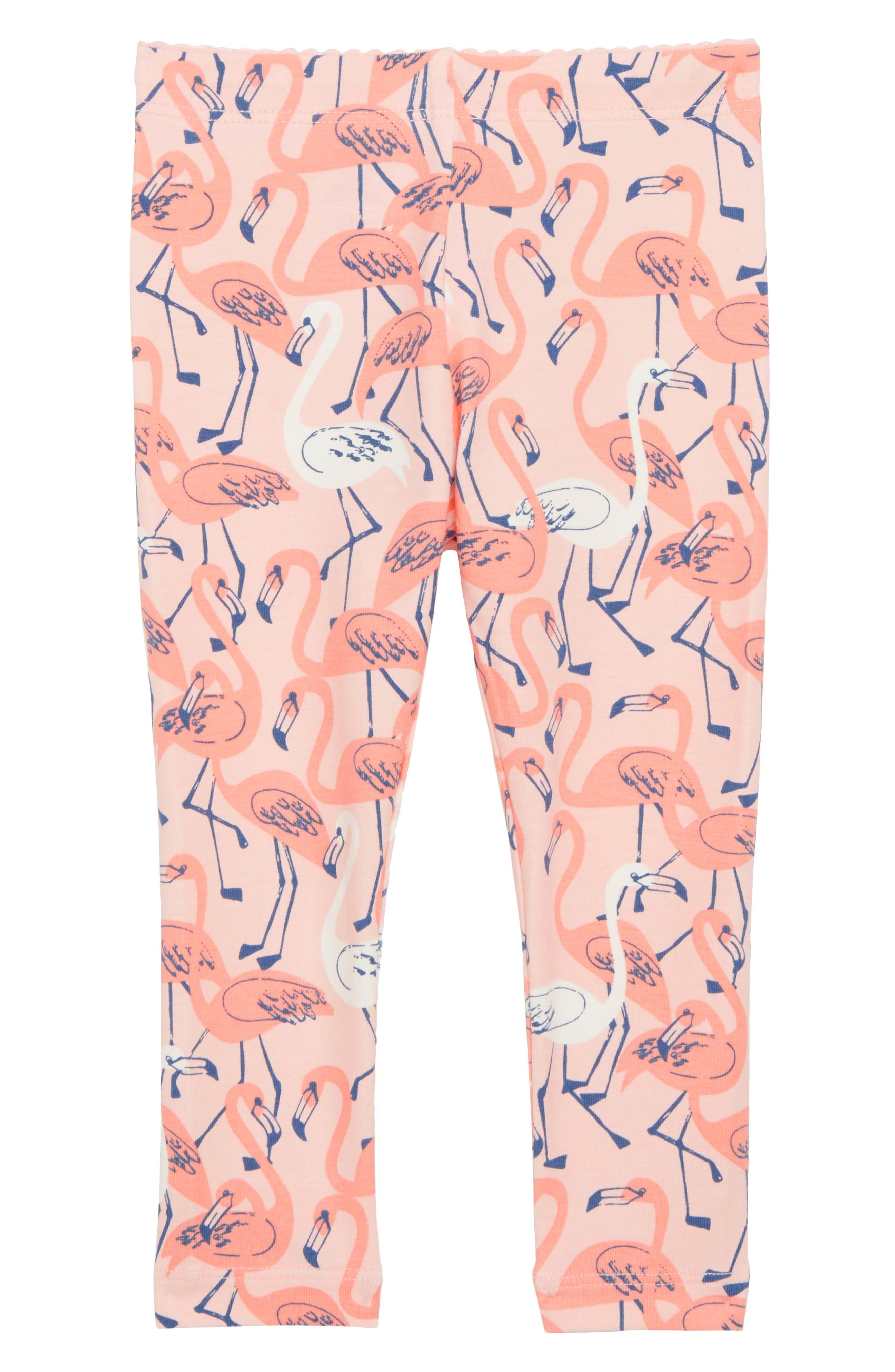 Flamingo Leggings,                             Main thumbnail 1, color,                             Flamingo Garden