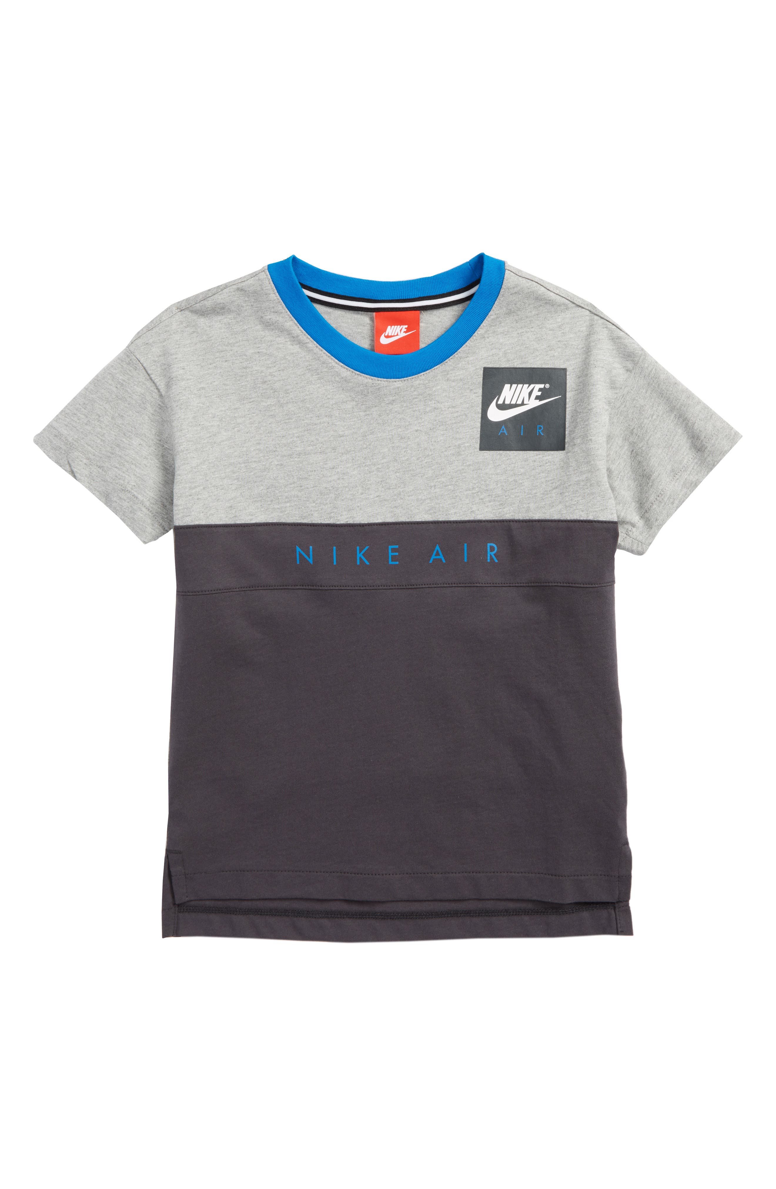 Air Shirt,                             Main thumbnail 1, color,                             Dark Grey Heather/ Anthracite