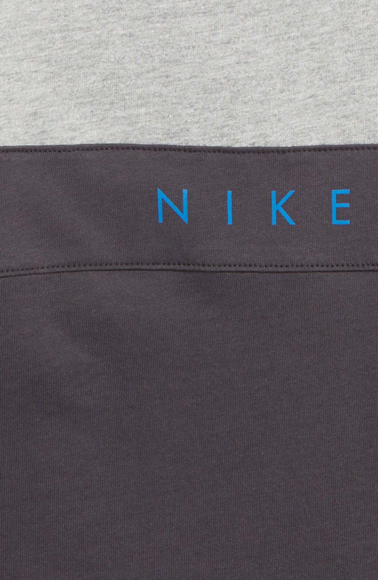 Air Shirt,                             Alternate thumbnail 3, color,                             Dark Grey Heather/ Anthracite