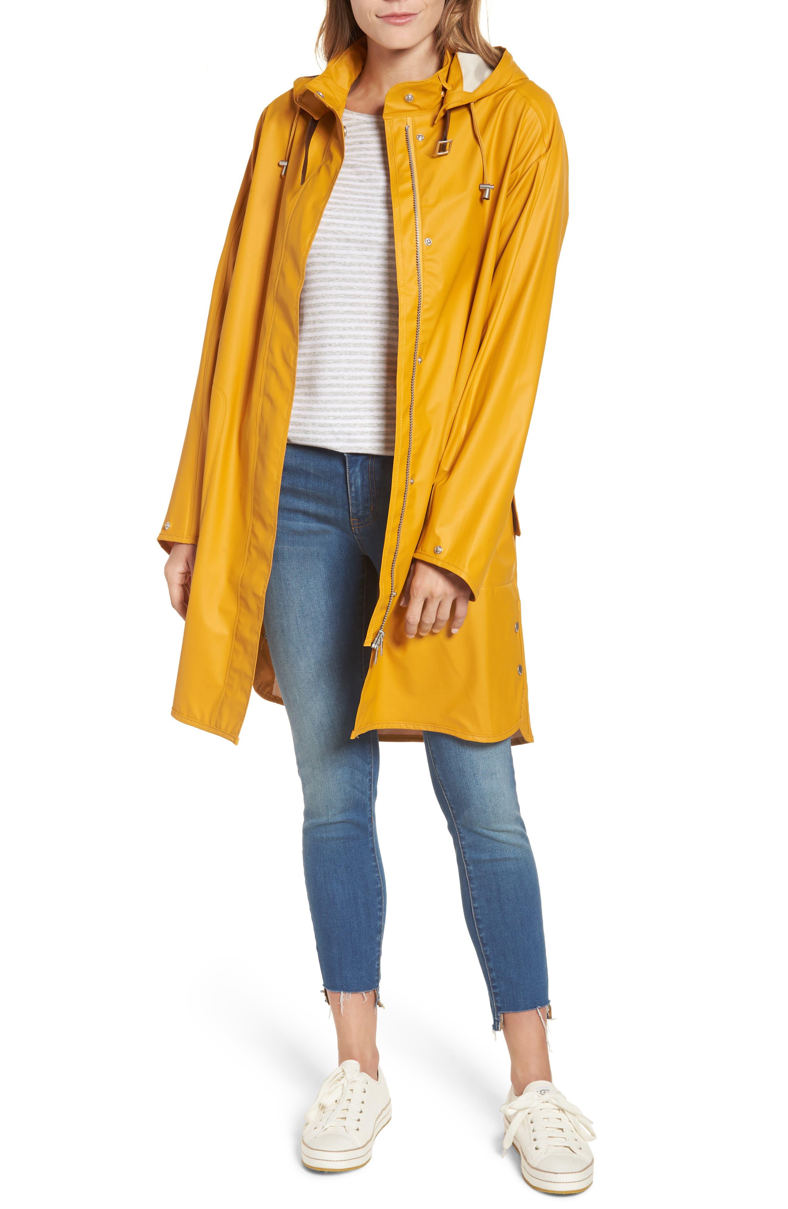 Rain Slicker,                         Main,                         color, Golden Yellow