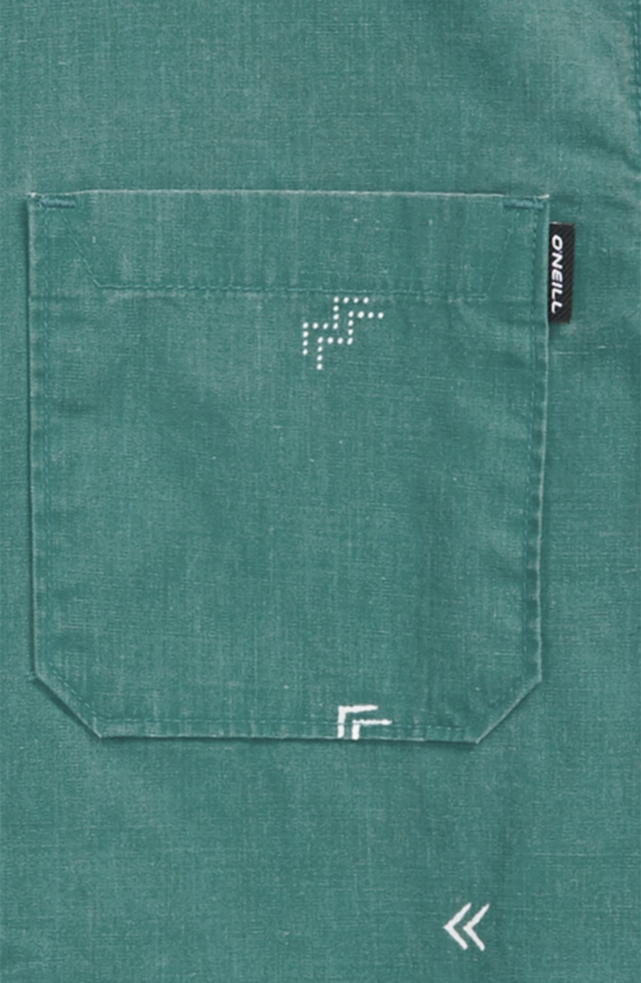 Kruger Woven Shirt,                             Alternate thumbnail 2, color,                             Jade