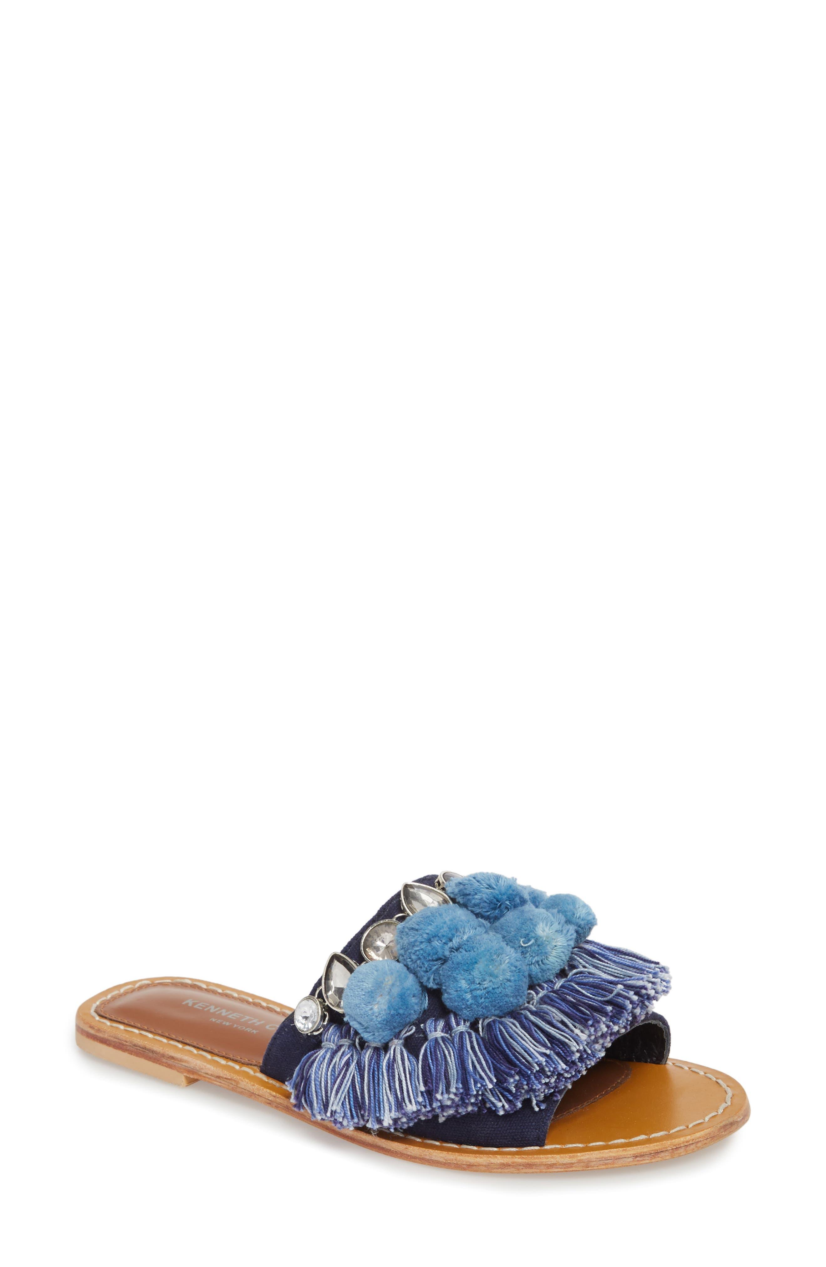Kenneth Cole New York Women's Osmond Slide Sandal D6a4lxumwB