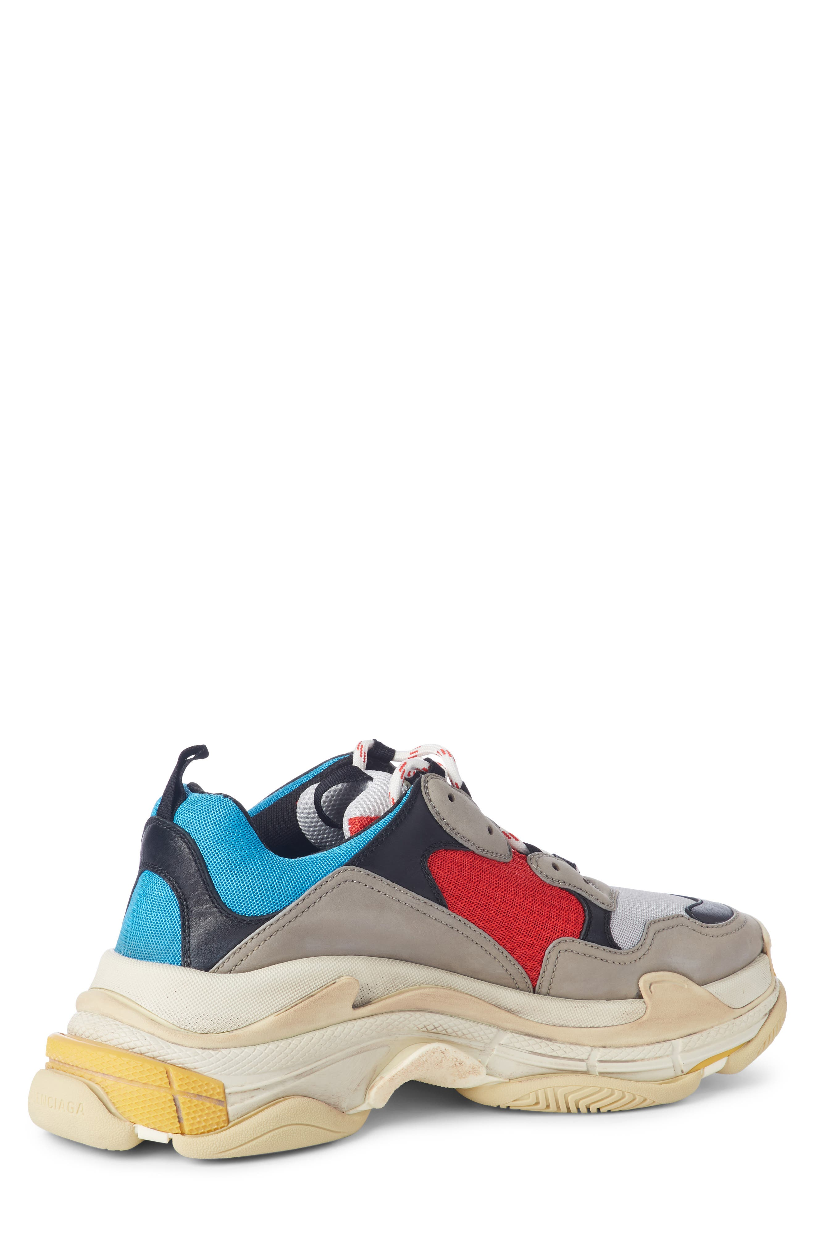 Triple S Retro Sneaker,                             Alternate thumbnail 2, color,                             Beige