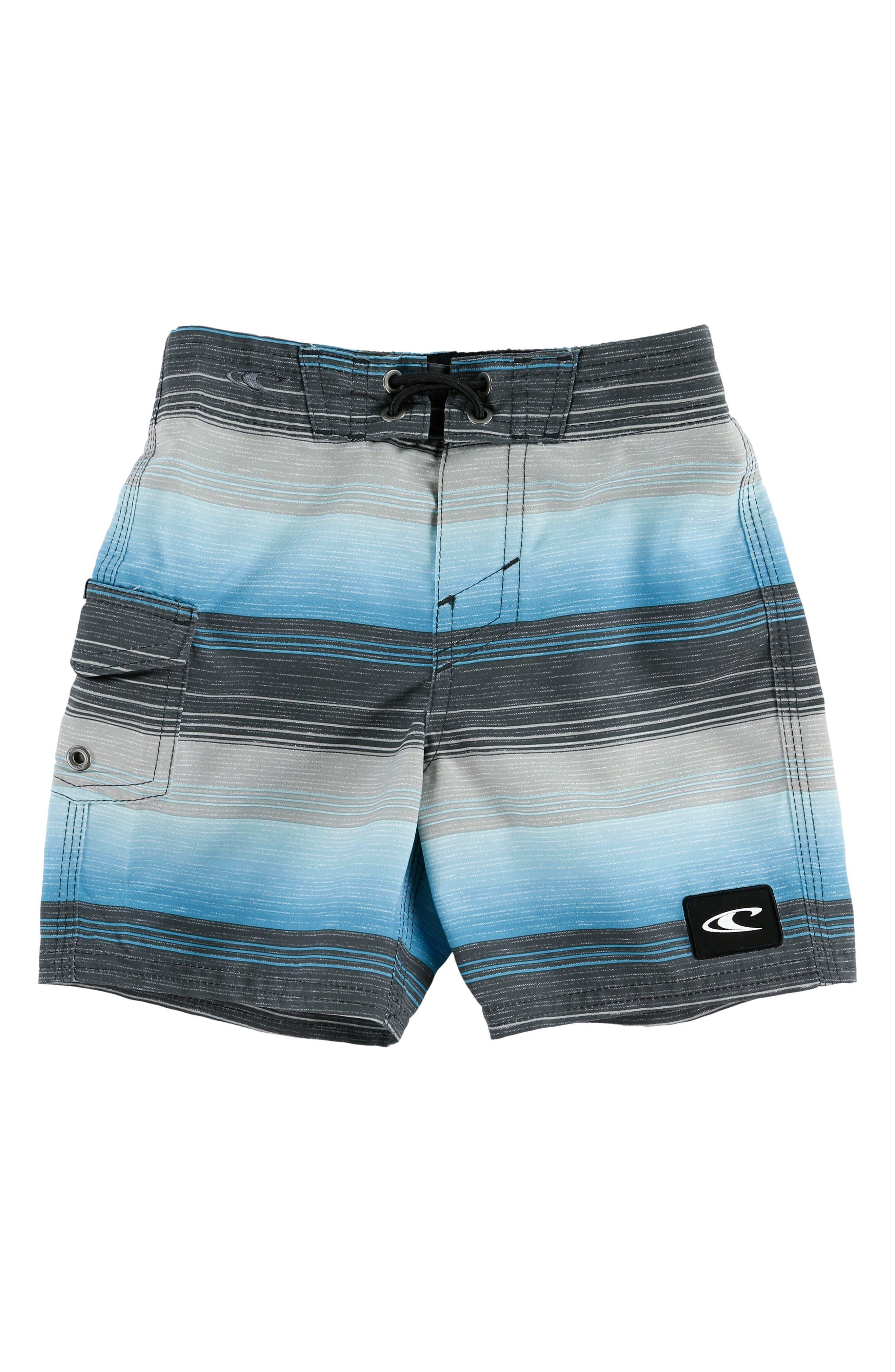O'Neill Santa Cruz Stripe Board Shorts (Little Boys & Big Boys)