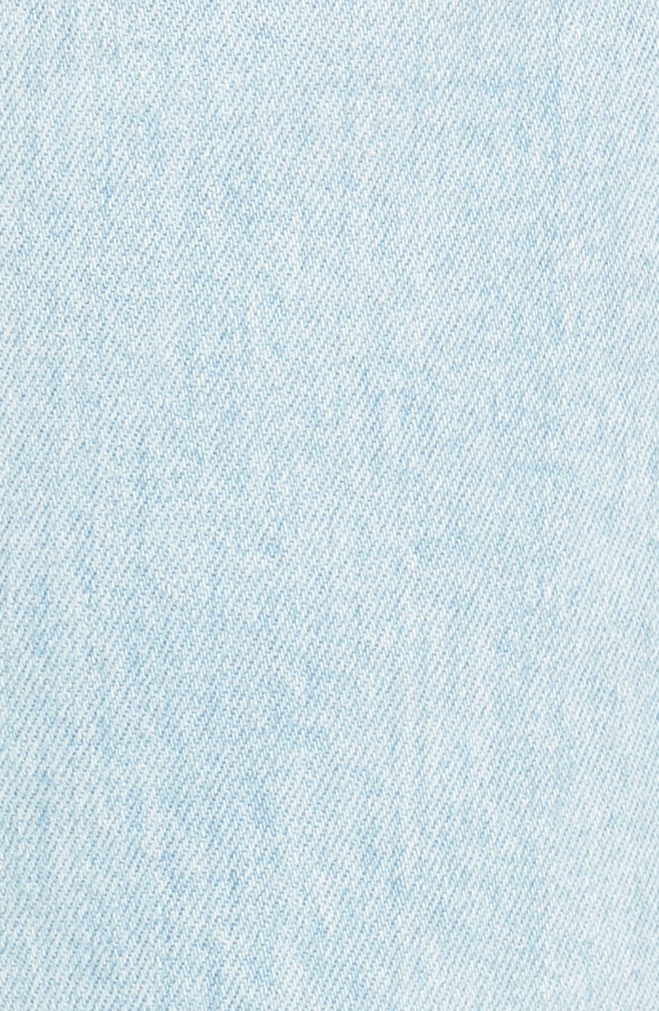 Dylan Skinny Fit Jeans,                             Alternate thumbnail 5, color,                             28 Years Salt Mist