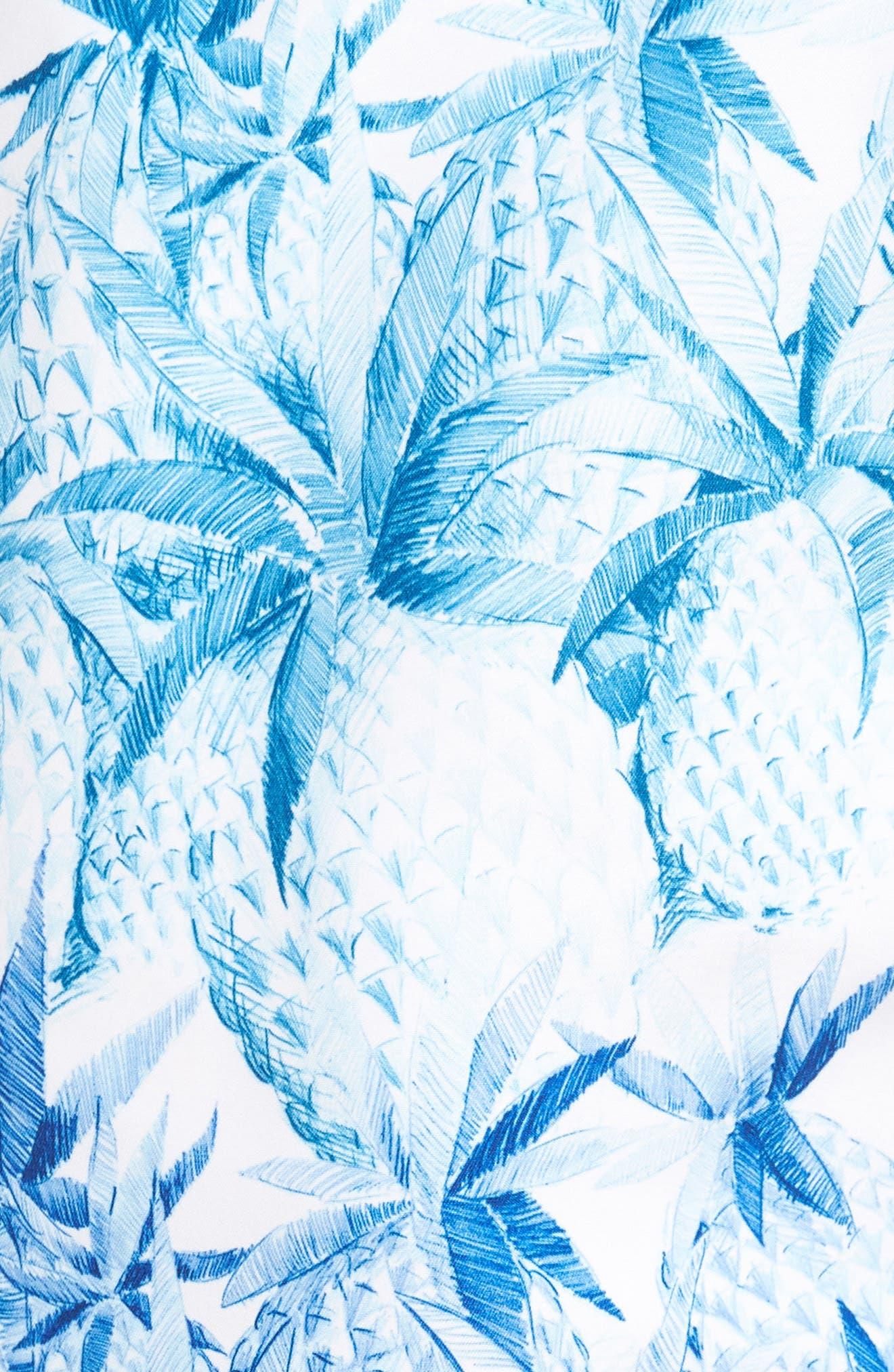 Naples Fruit of Tulum Swim Trunks,                             Alternate thumbnail 5, color,                             Santorini Blue