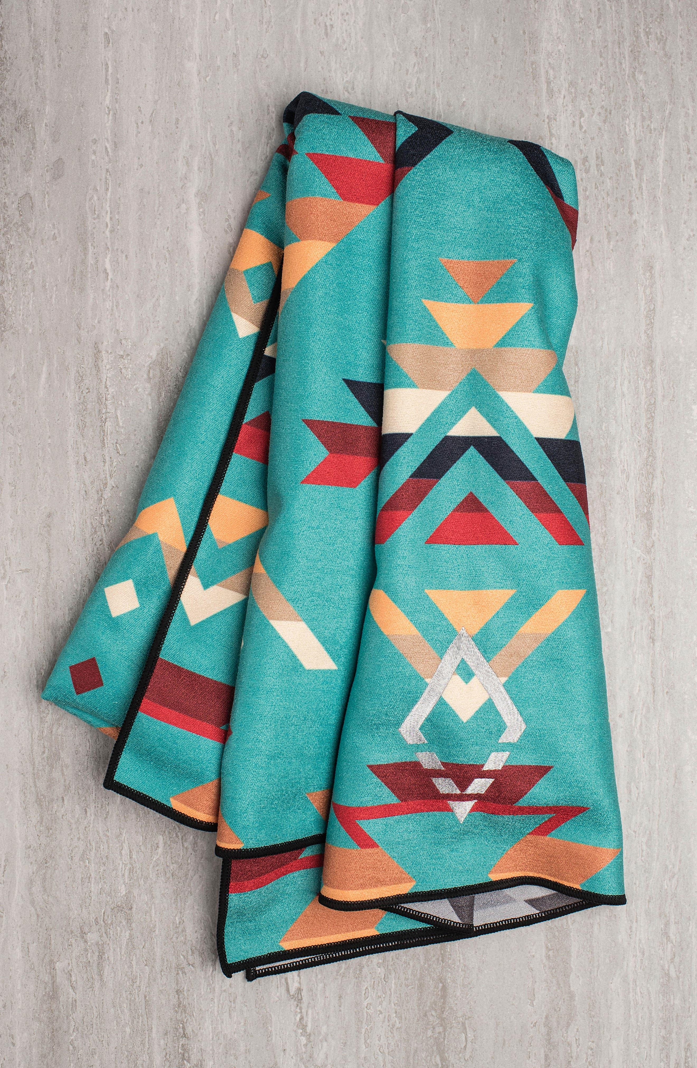 PNW Yoga Towel,                             Alternate thumbnail 2, color,                             High Alpine