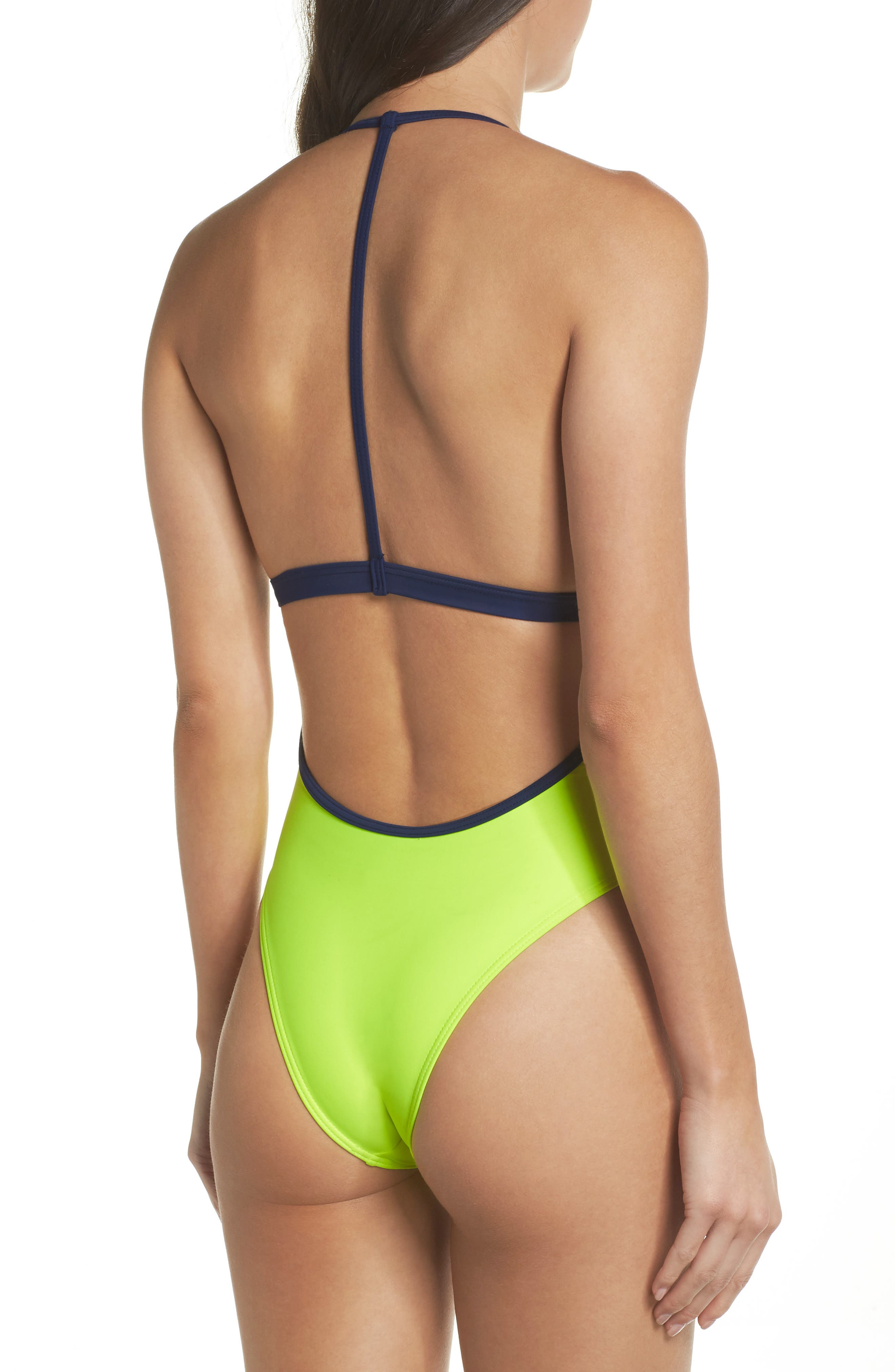 Alternate Image 2  - Chromat T-Suit One-Piece Swimsuit