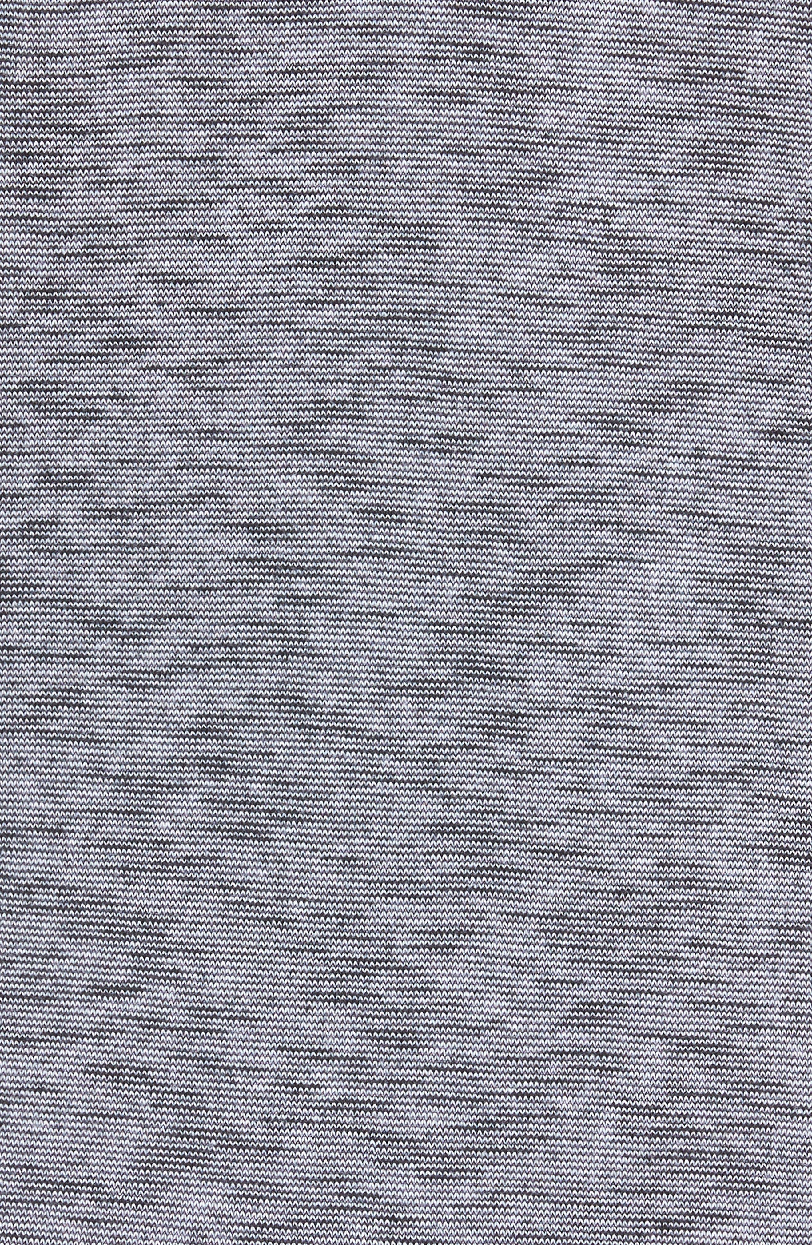 Slub Full Zip Hoodie,                             Alternate thumbnail 5, color,                             Feeder Stripe