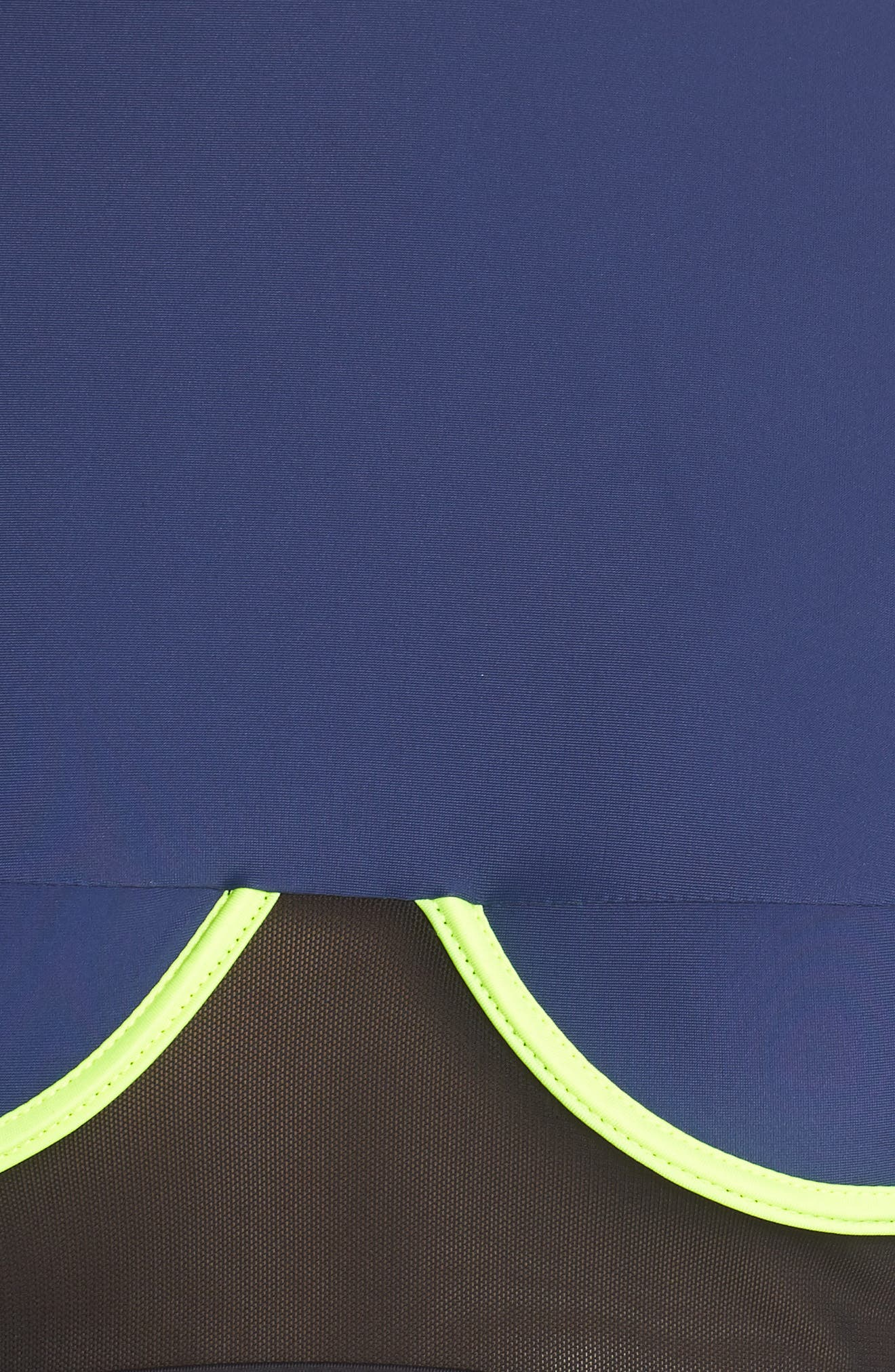 Racer Bikini Top,                             Alternate thumbnail 8, color,                             Blue/ Black/ Yellow