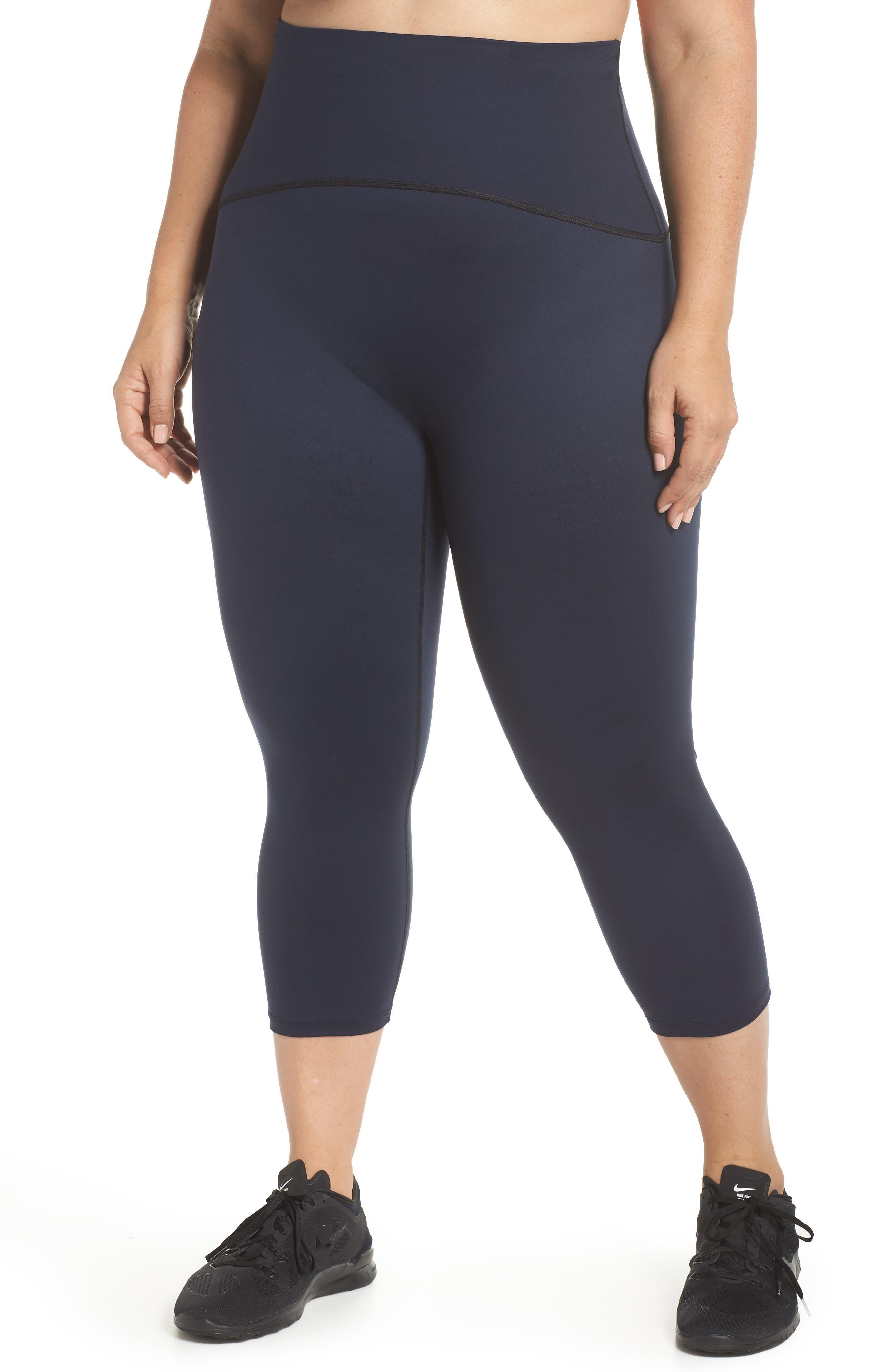 SPANX® Active Crop Leggings (Plus Size)