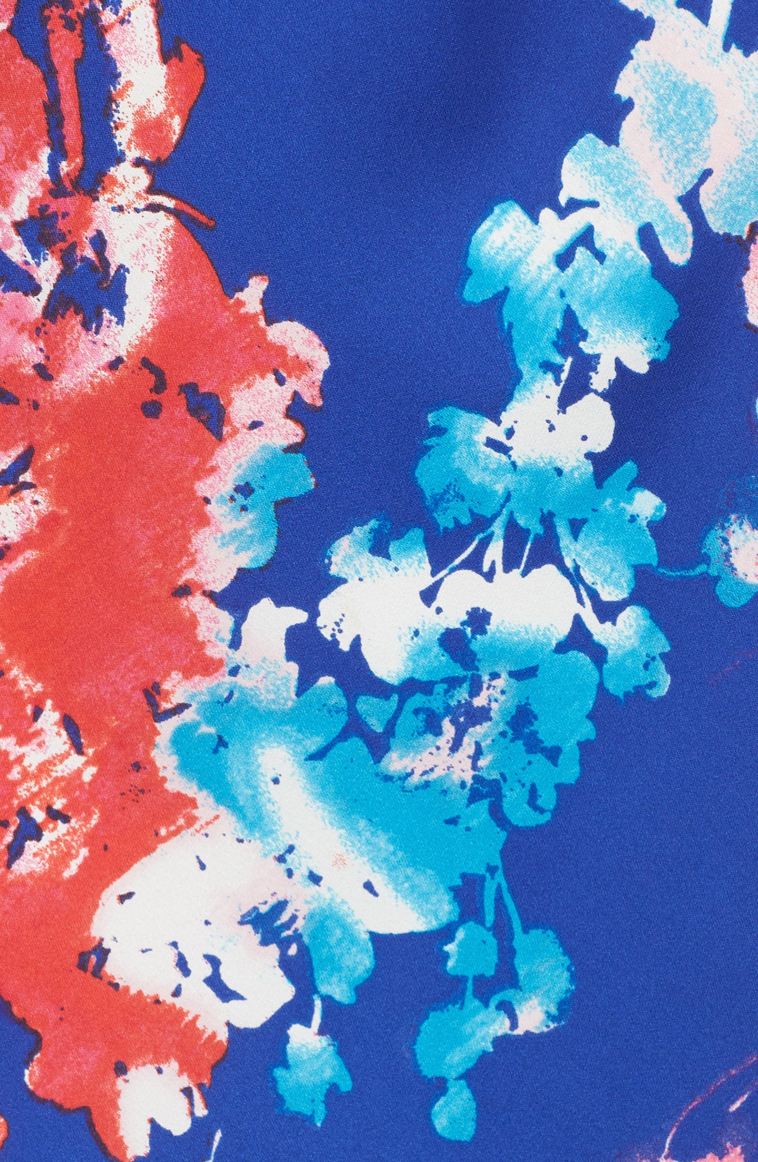 Fiji Chemise,                             Alternate thumbnail 6, color,                             Cob Cobalt