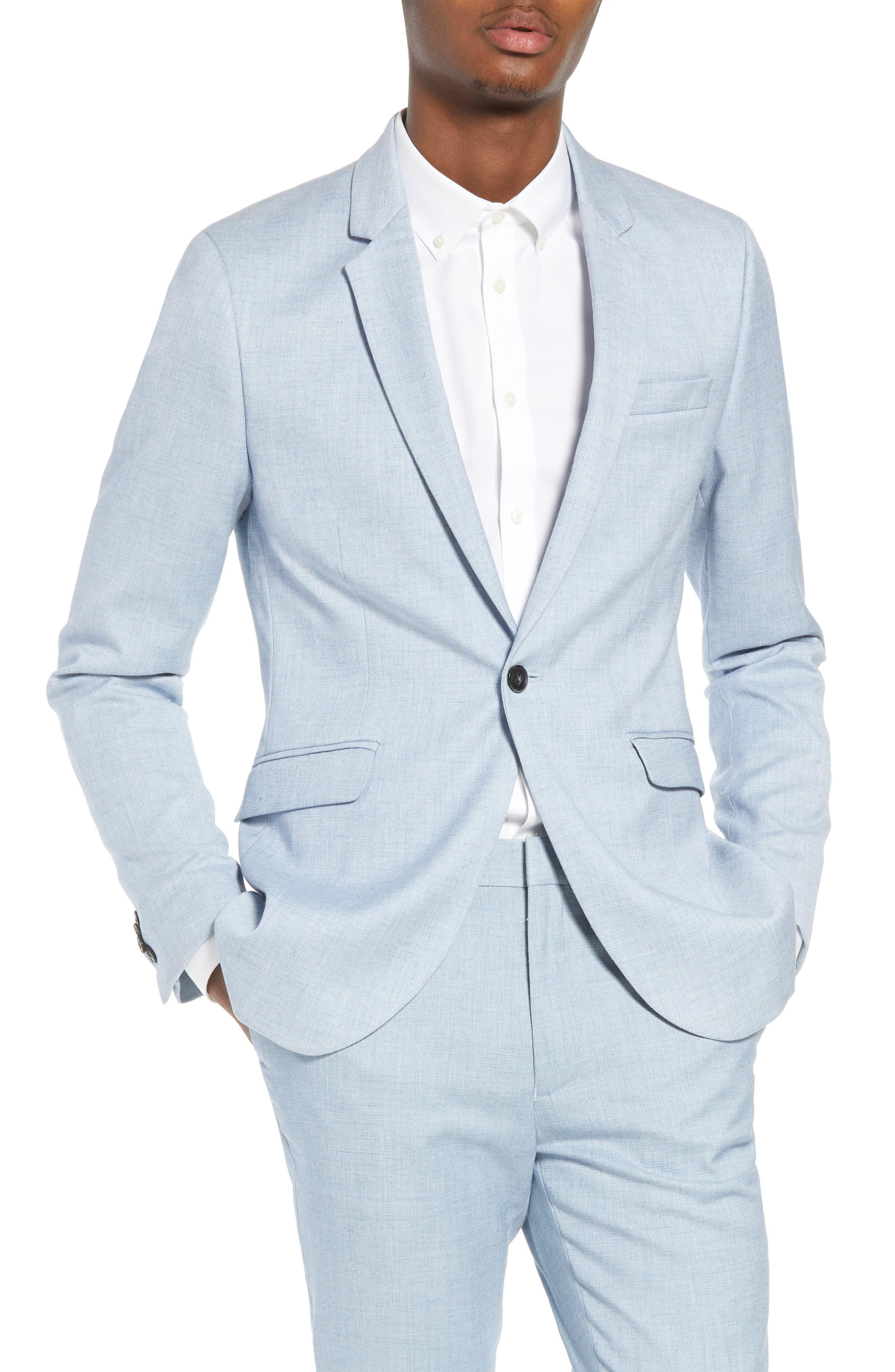 Topman Classic Fit Suit Jacket
