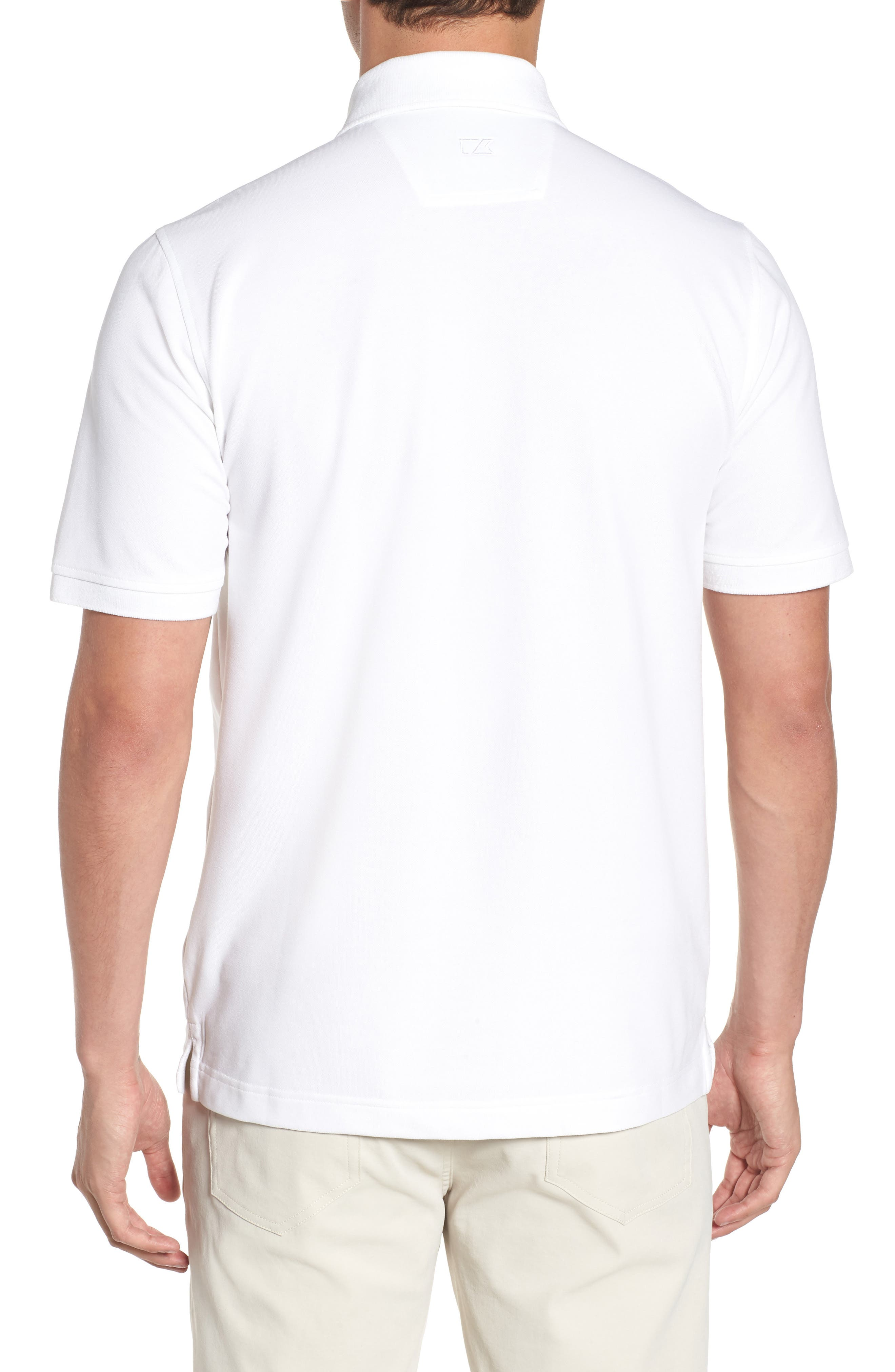 Pittsburgh Steelers - Advantage Regular Fit DryTec Polo,                             Alternate thumbnail 2, color,                             White