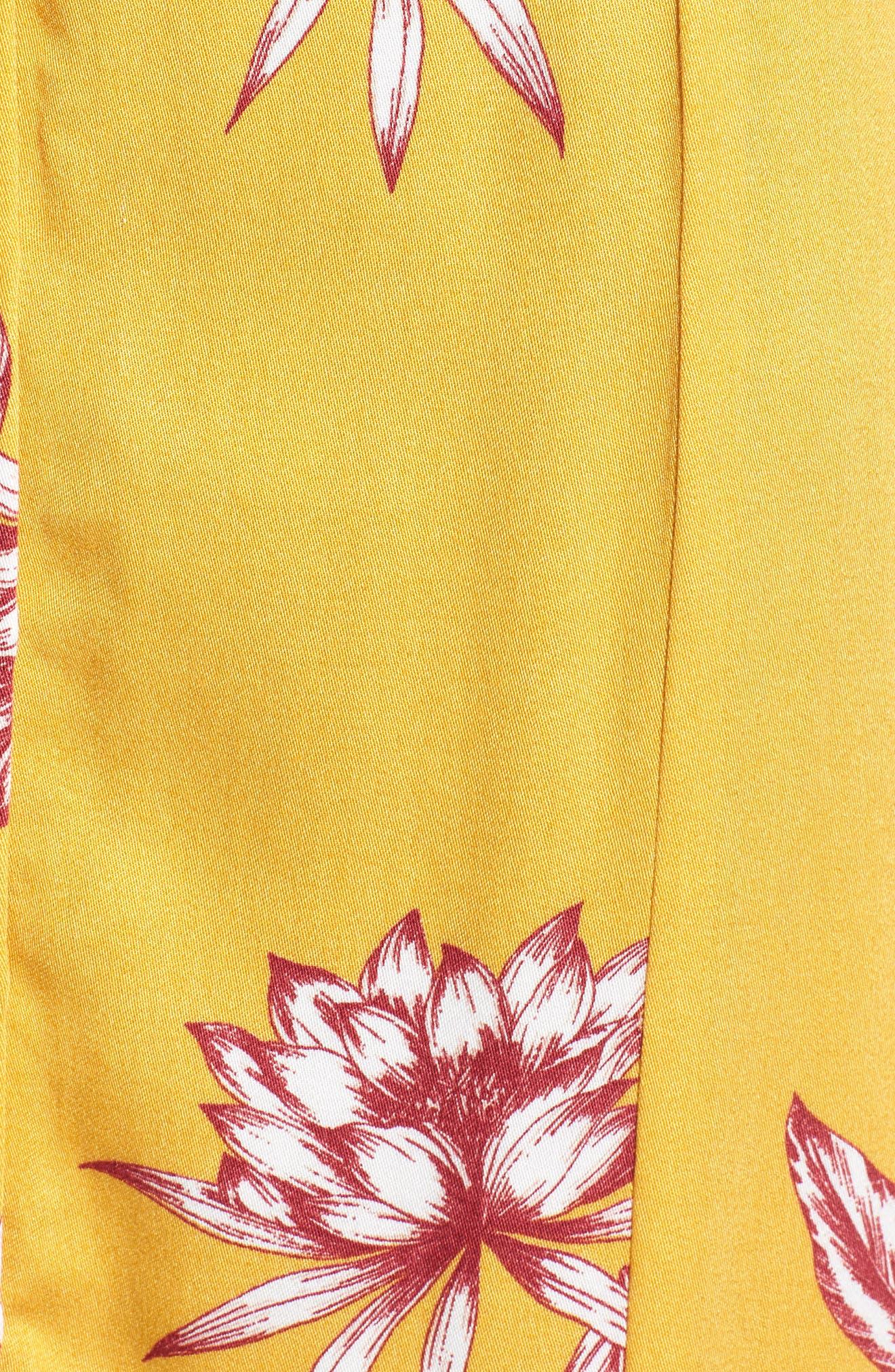 Searing Soul Midi Skirt,                             Alternate thumbnail 6, color,                             Multi