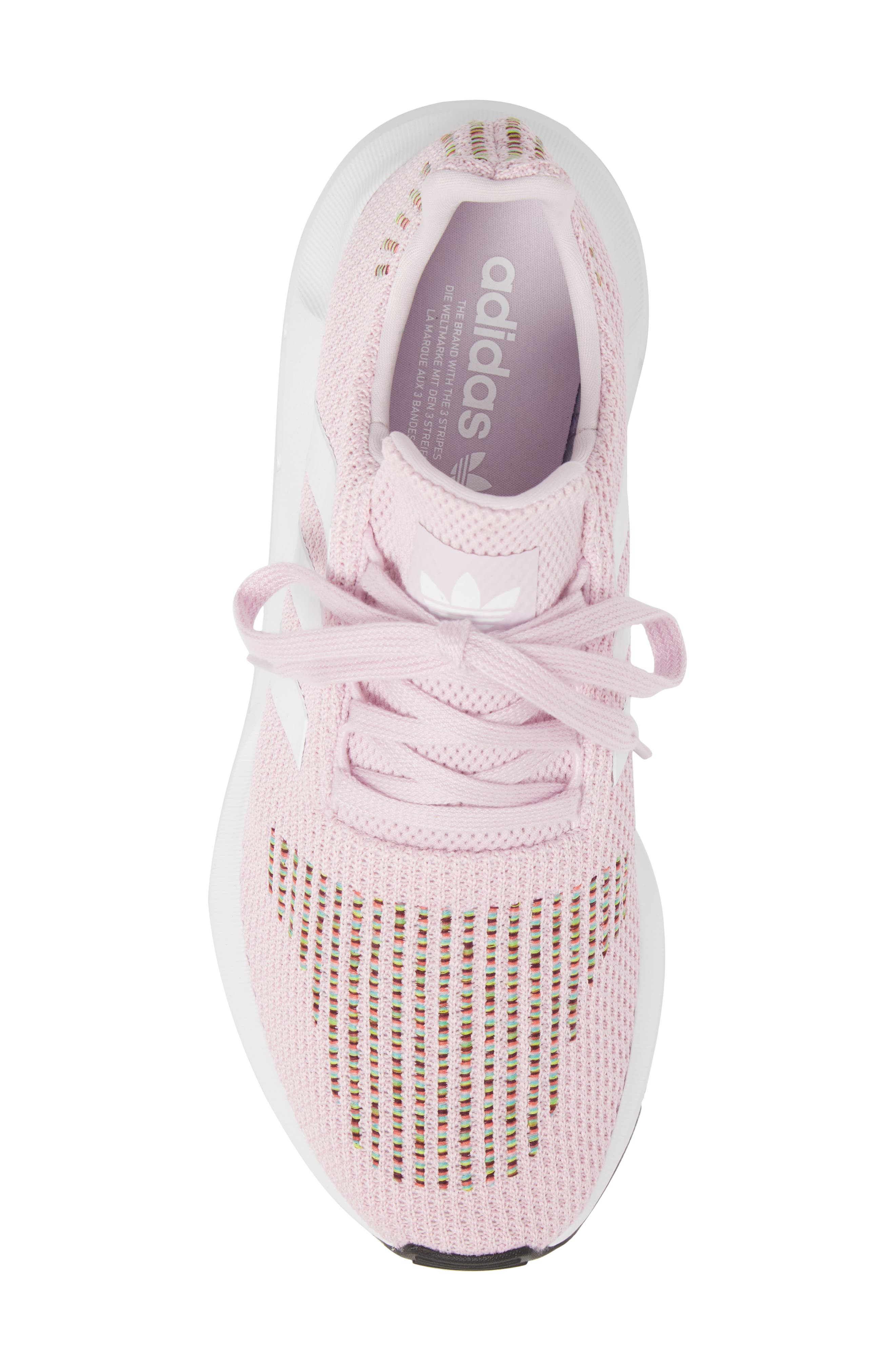 Swift Run Sneaker,                             Alternate thumbnail 5, color,                             Aero Pink/ White/ Core Black