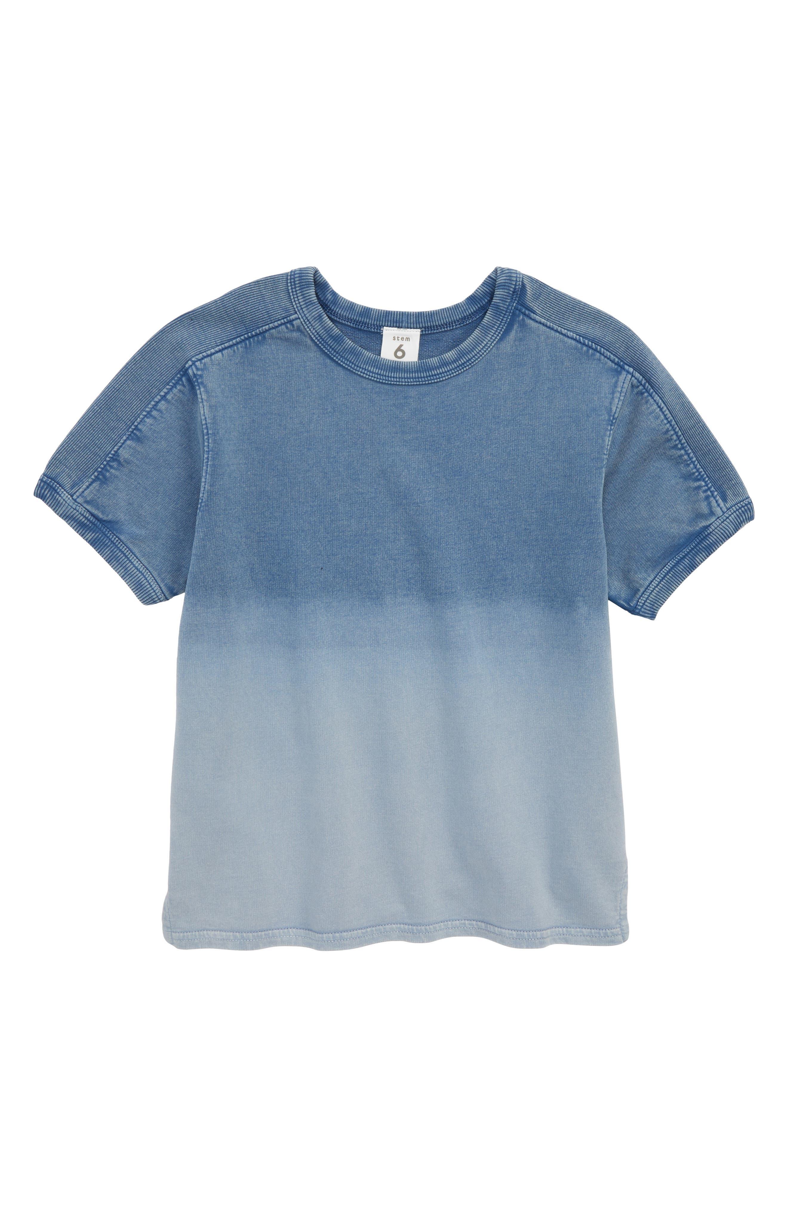 Stem Dip Dye Fleece Shirt (Toddler Boys, Little Boys & Big Boys)