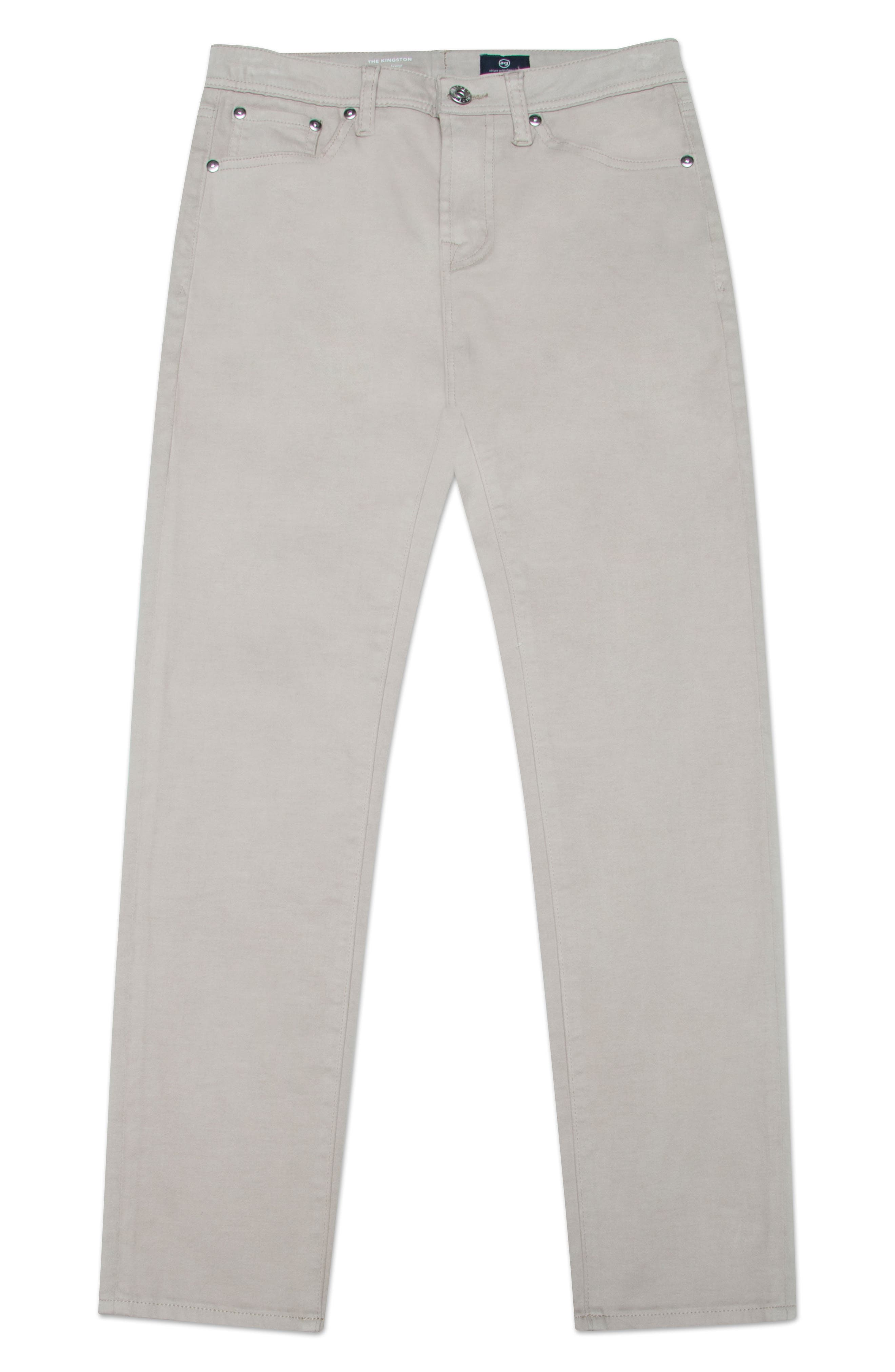 The Stryker Luxe Slim Straight Leg Jeans,                             Main thumbnail 1, color,                             Beach Nut